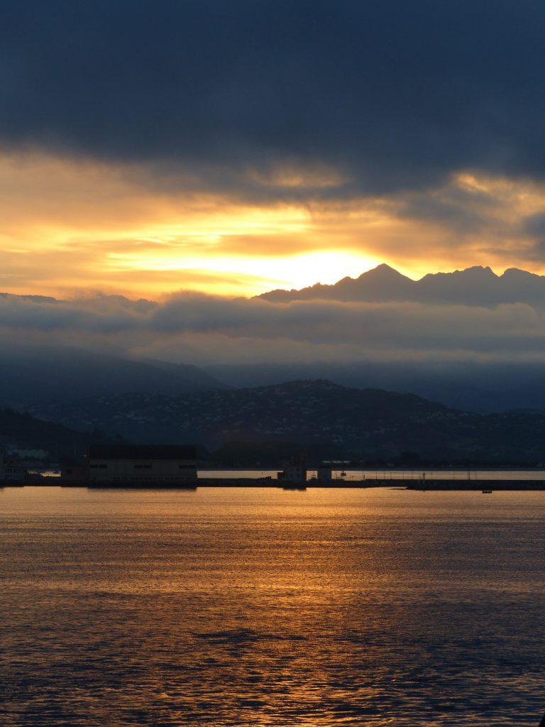 Korsika Sonnenaufgang