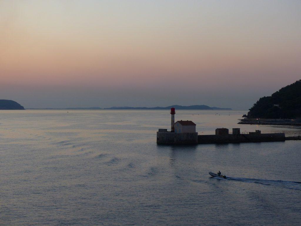 Hafeneinfahrt Toulon Cote d'Azur