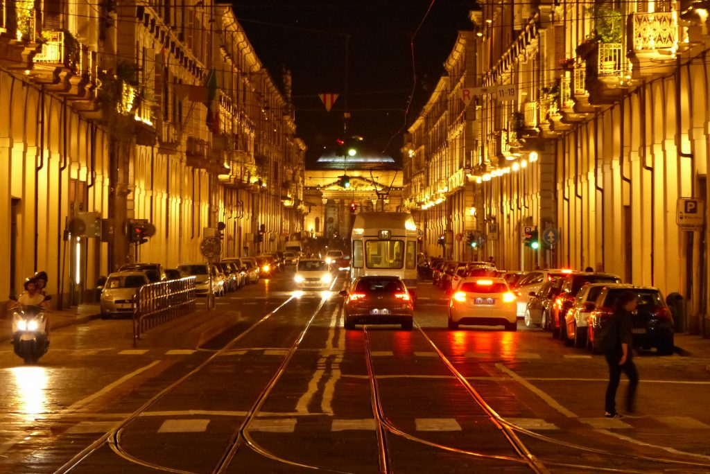 Turin Abends