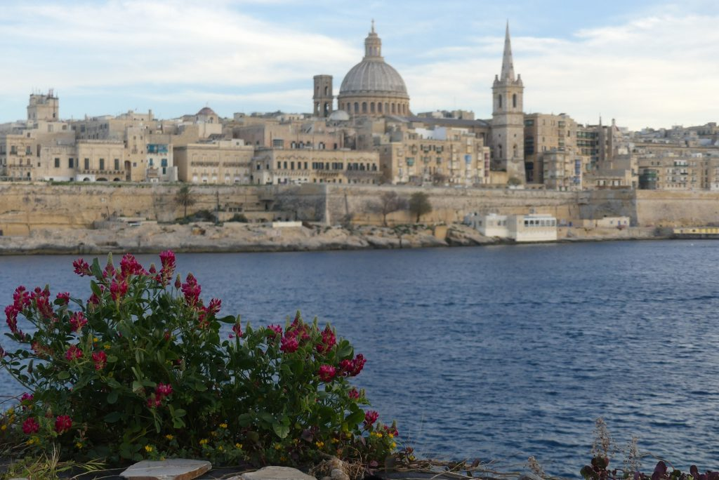 Valletta Malta Skyline