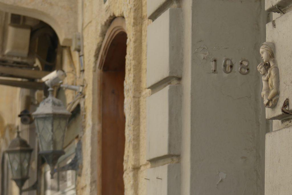 Details an Häusern in Valletta Malta