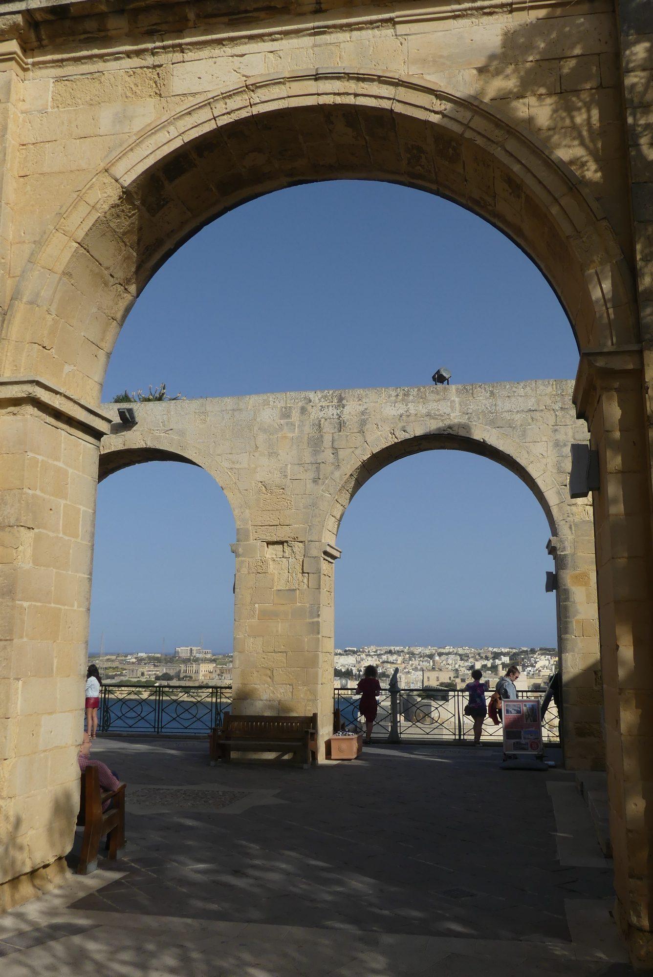 Upper Barracka Garden Valletta Malta
