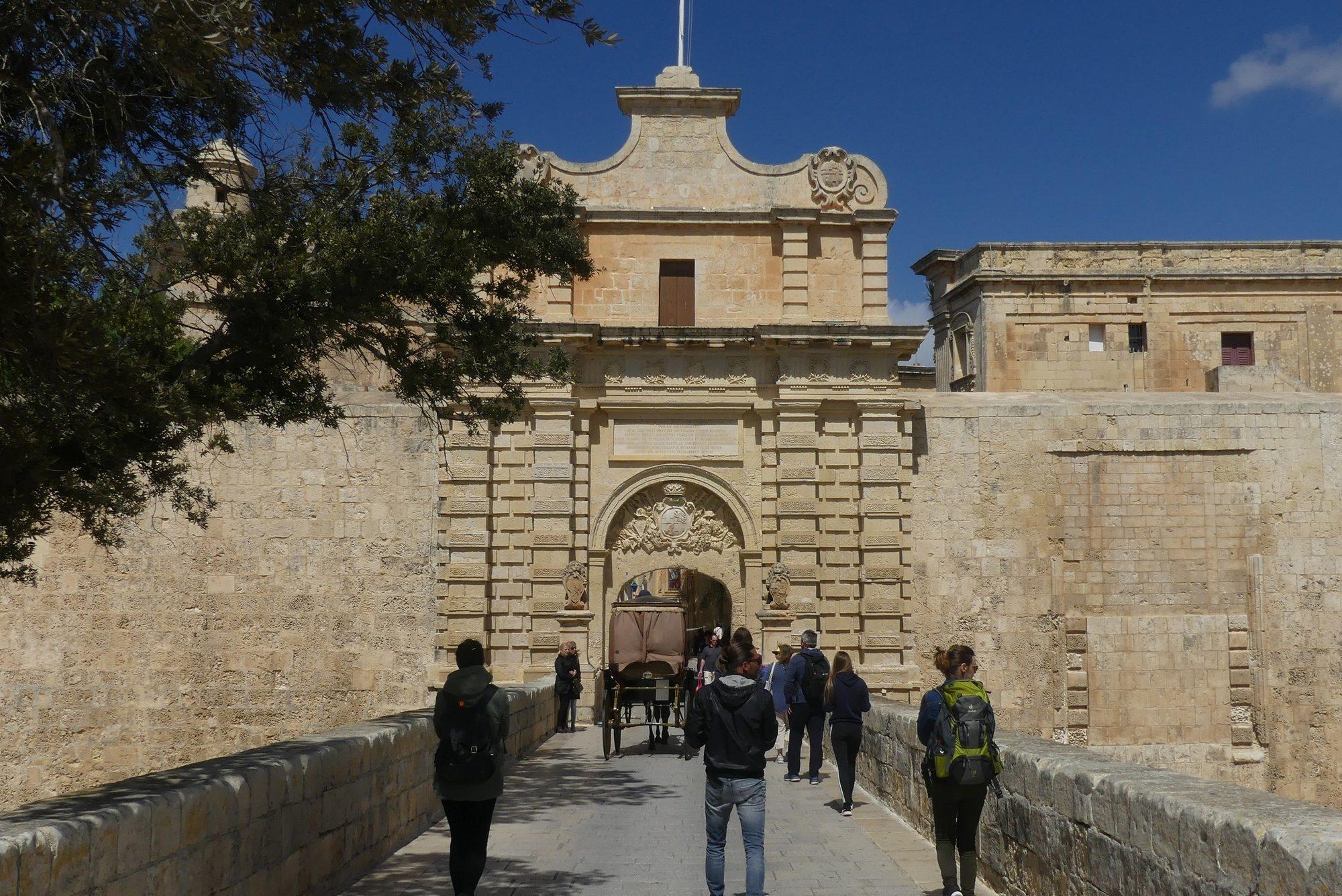 Eingang nach Mdina Malta