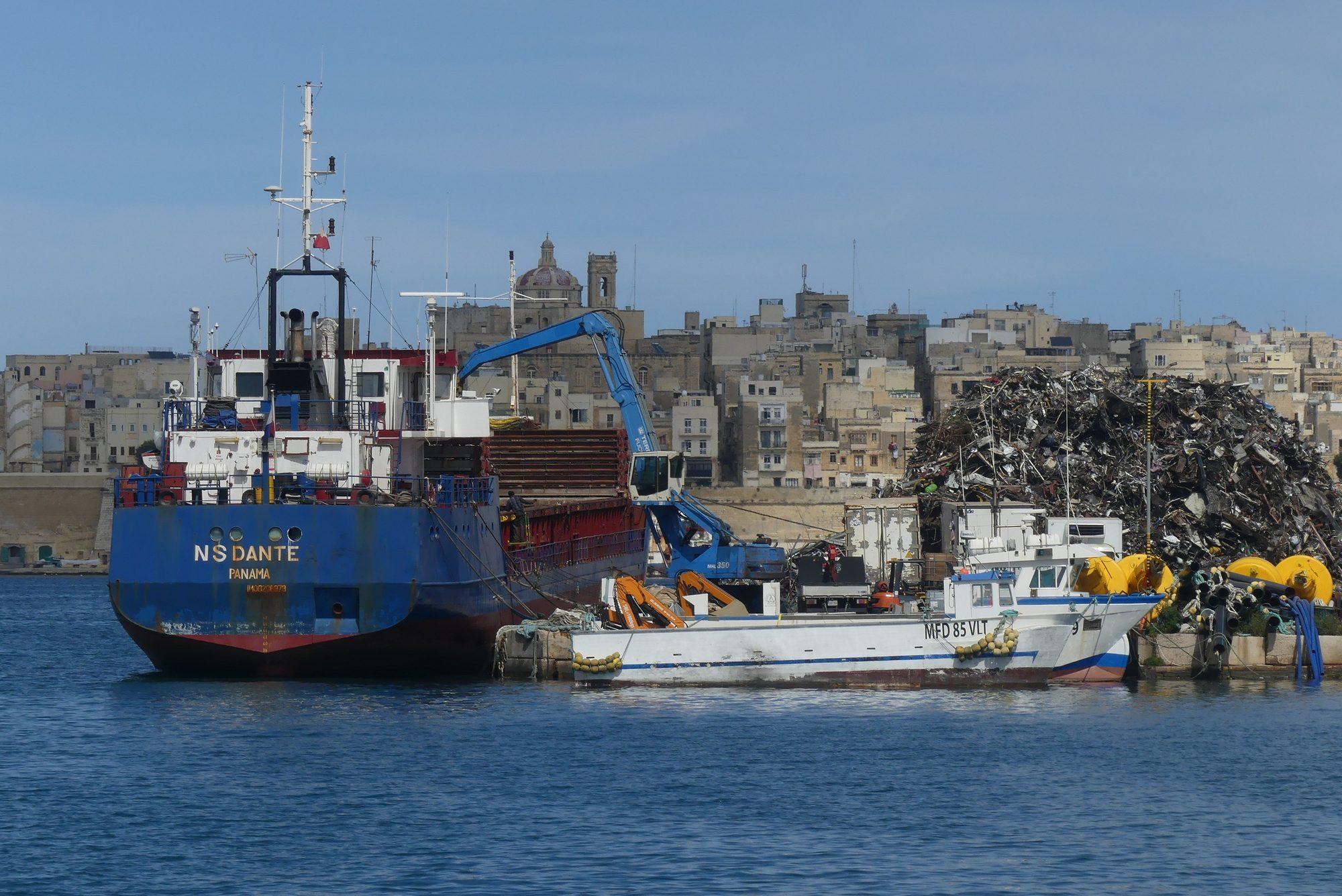 Bootsfahrt durch den Grand Harbour Valletta Malta