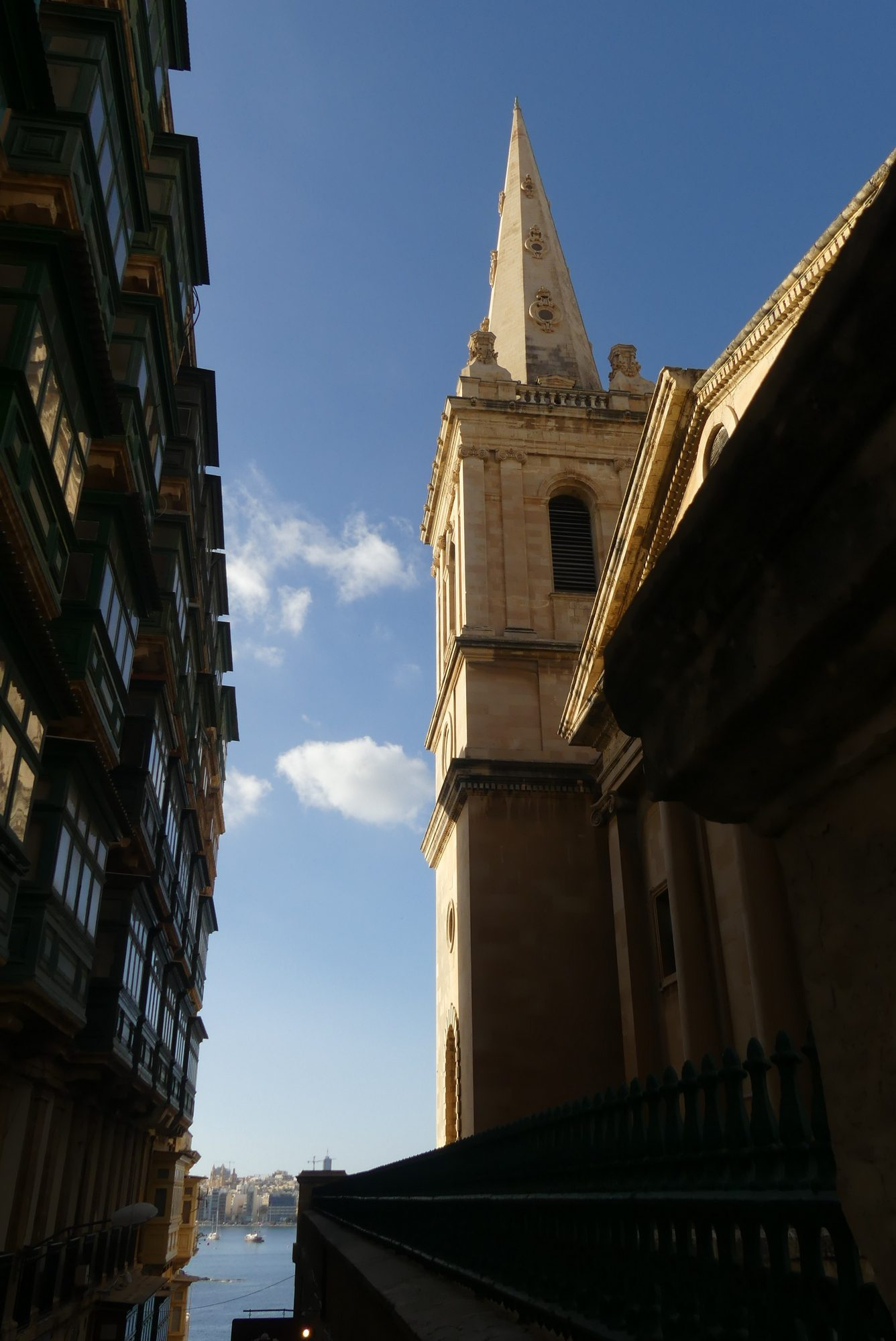 Kirche in Valletta Malta