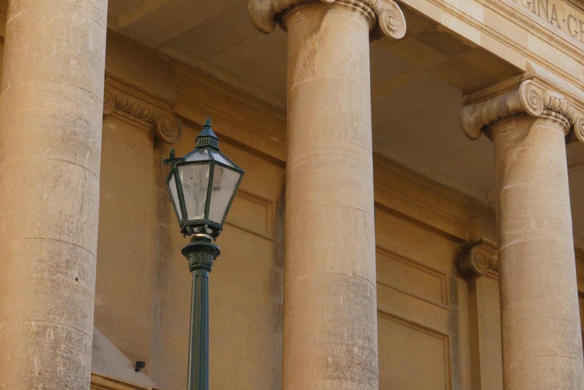 Fassade einer Kirche in Valletta Malta
