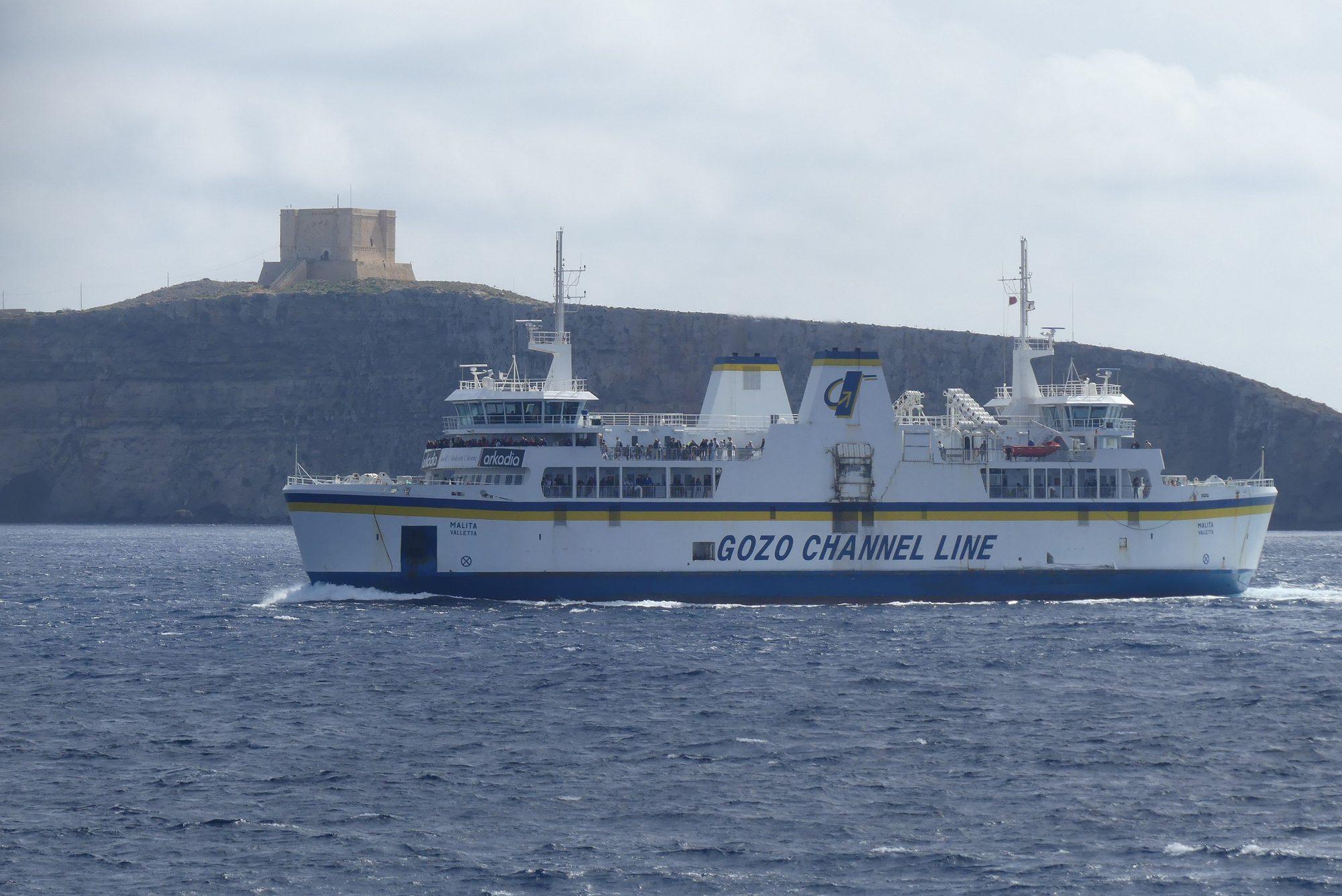 Fähre zwischen Gozo und Malta