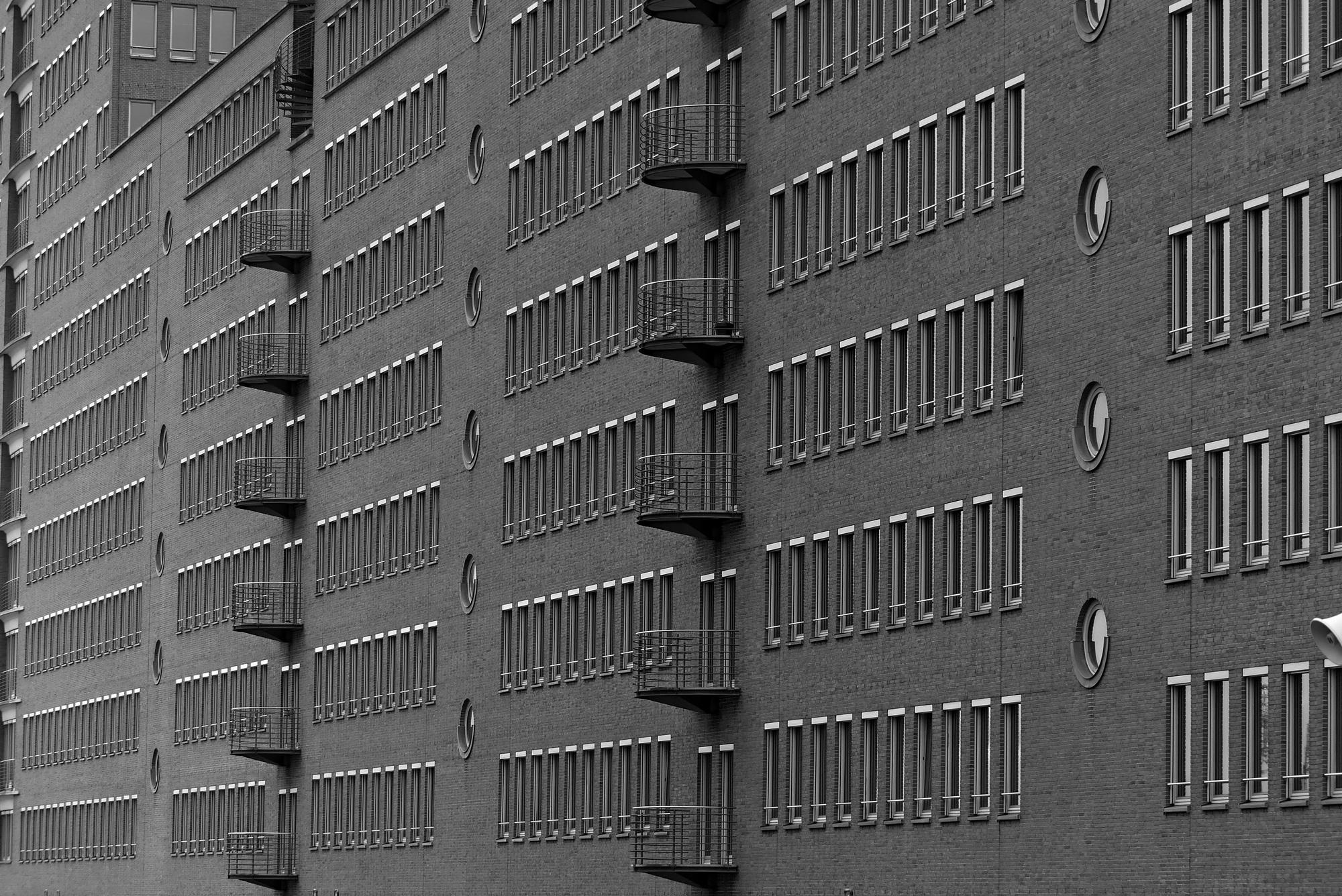 Hamburg Fassade Speicherstadt