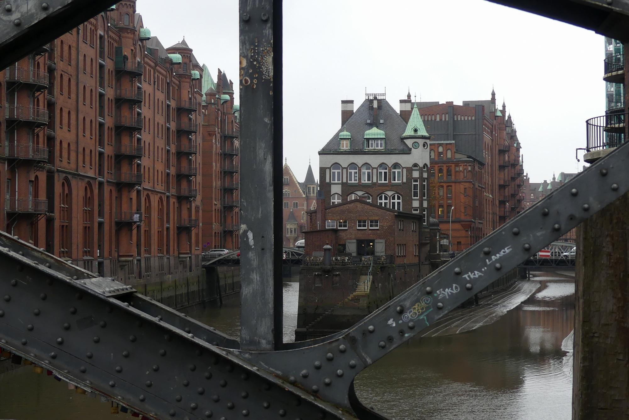 Hamburg Speicherstadt Wasserschloss