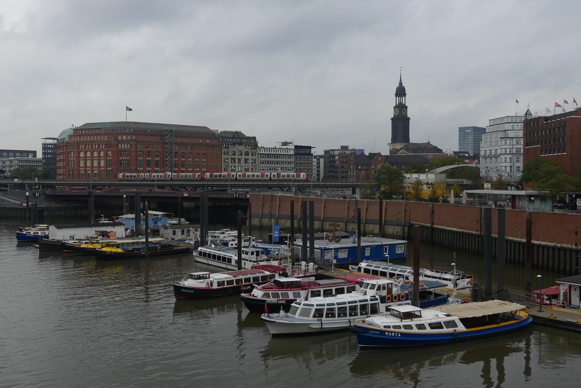 Hamburg Binnenhafen Speicherstadt