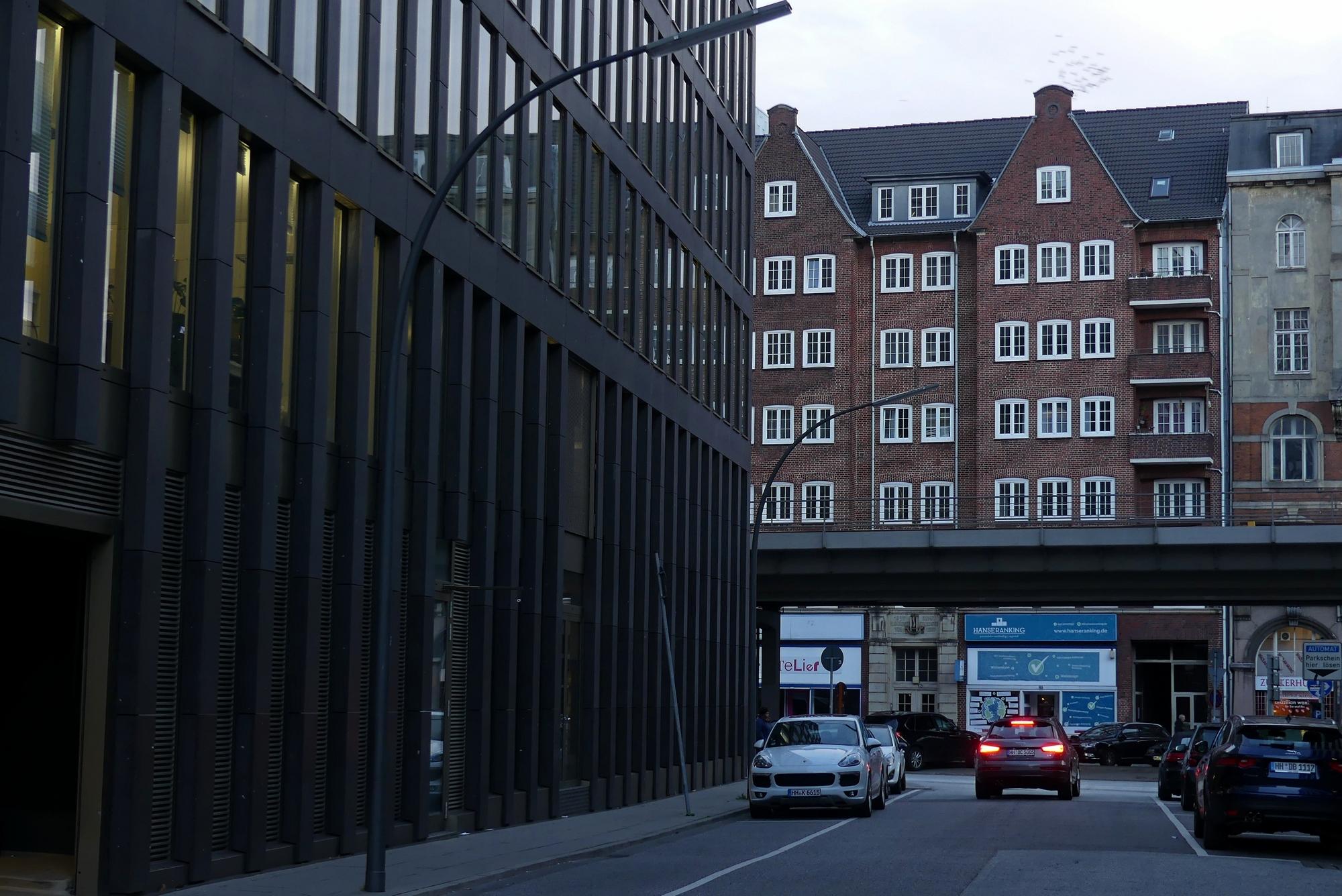 Hamburg Häuser am Alsterfleet