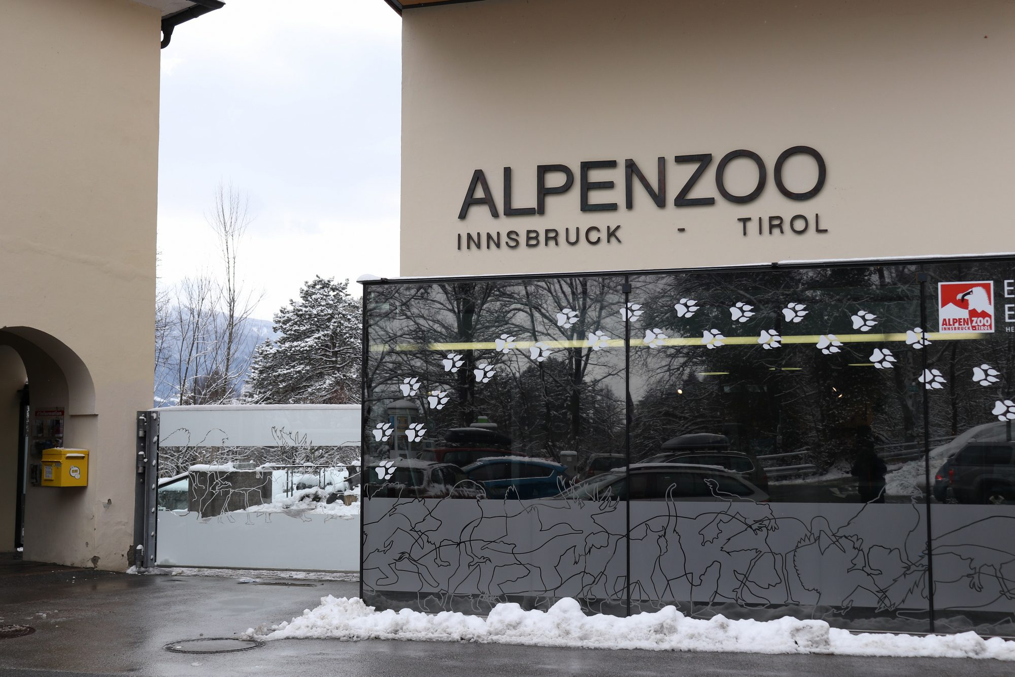 Eingang Alpenzoo Innsbruck