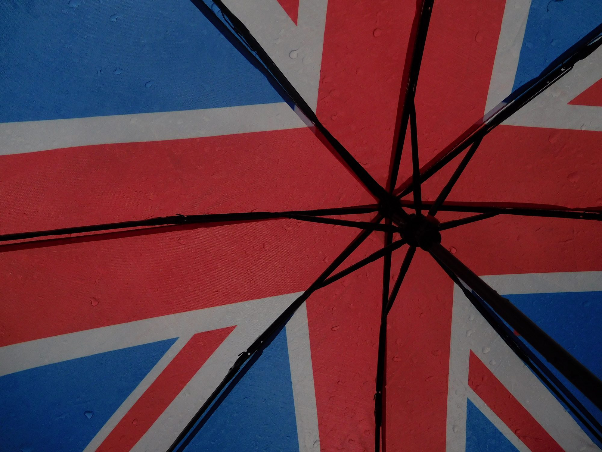 England-Regenschrim in London