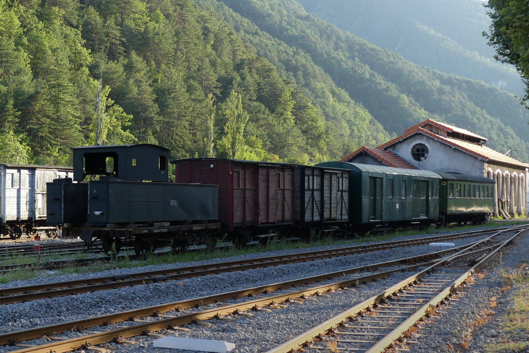 Train de Pignes in der Haute Provence Cote d'Azur