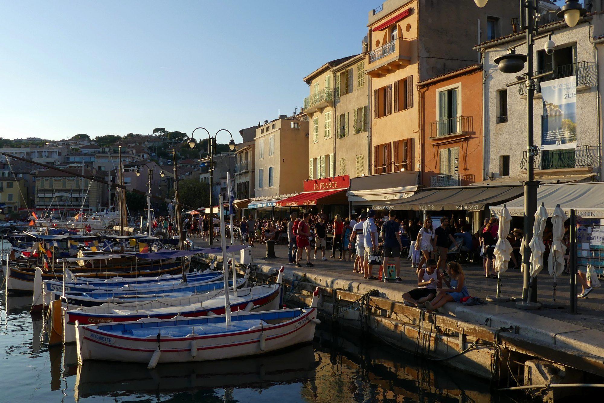 Hafen von Cassis Cote d'Azur