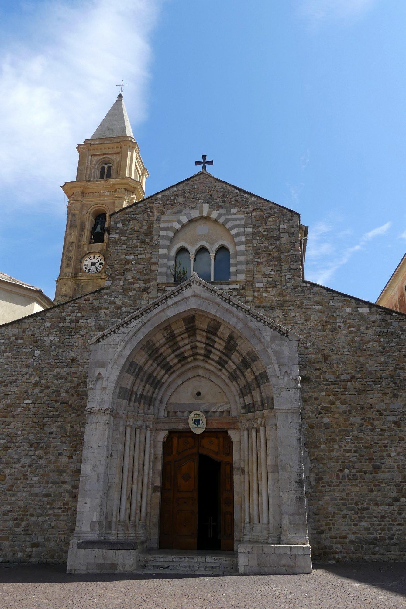 Kirche in der Altstadt von Ventimiglia