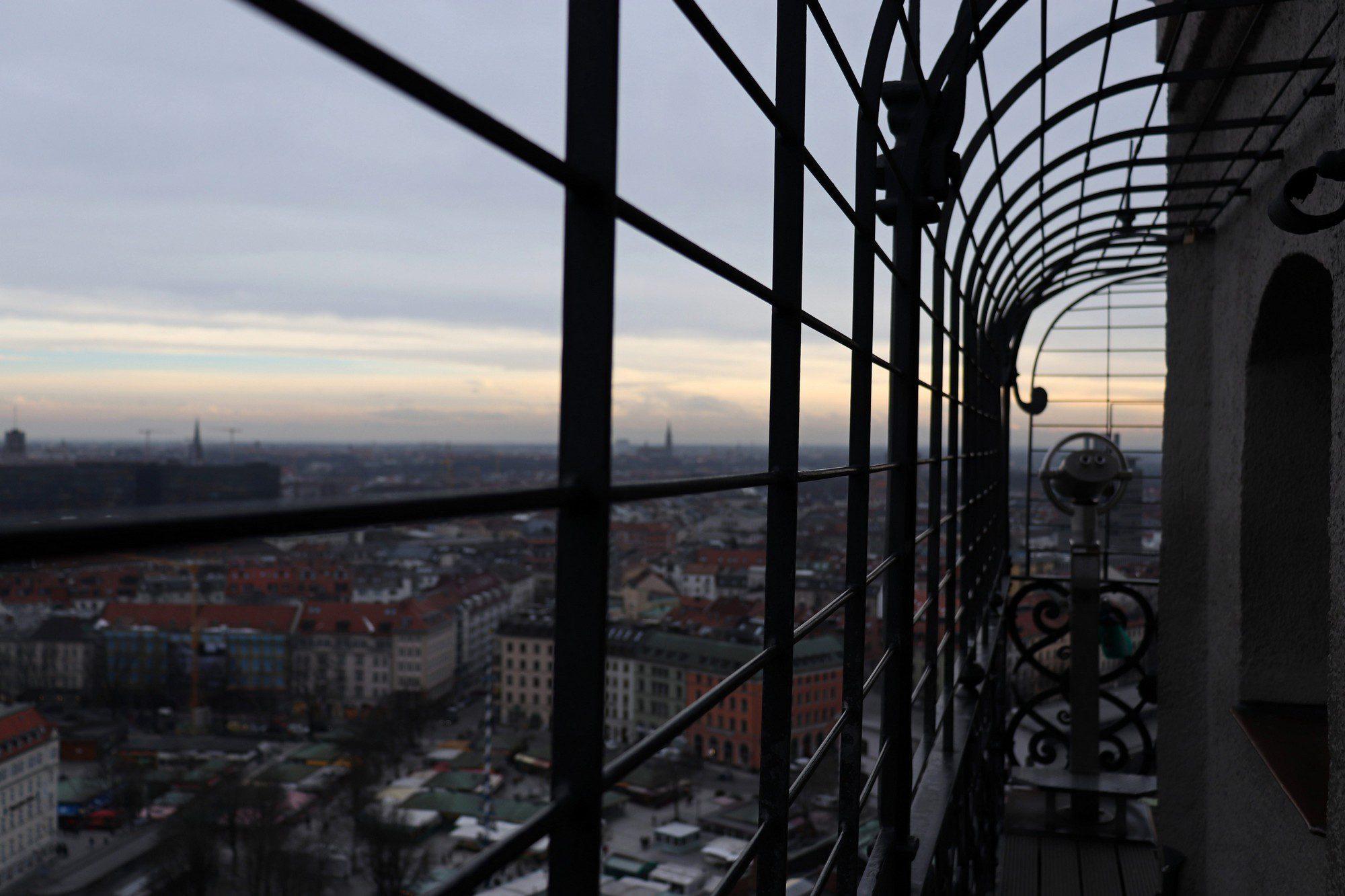 Ausblick vom Alten Peter in München