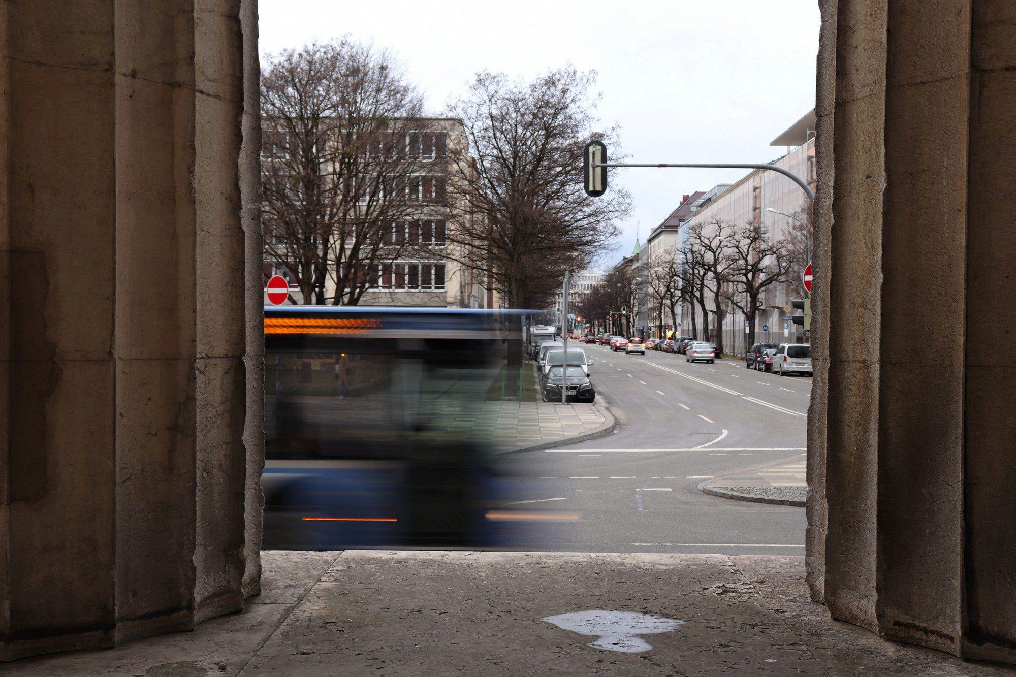 Säulen der Münchner Propyläen