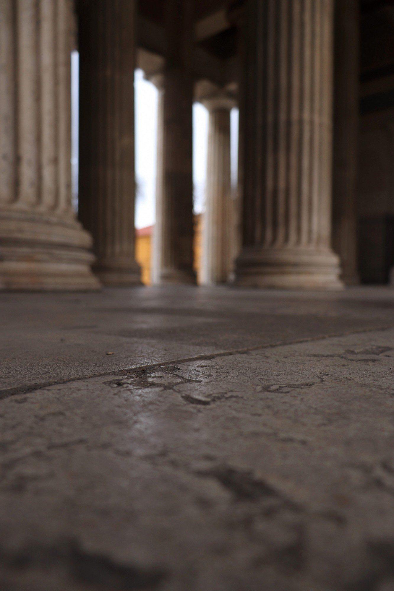 Die Säulen der Münchner Propyläen