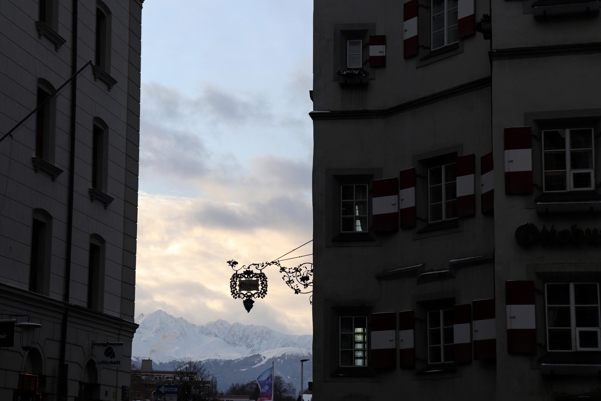 Innsbruck im Winter