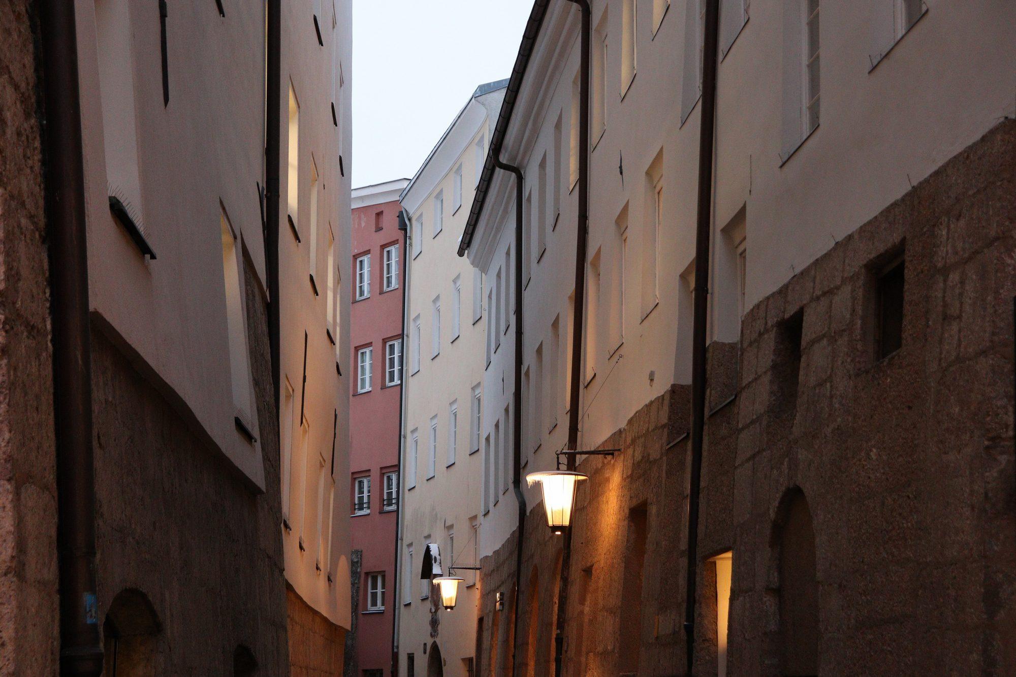 Gasse in Innsbruck