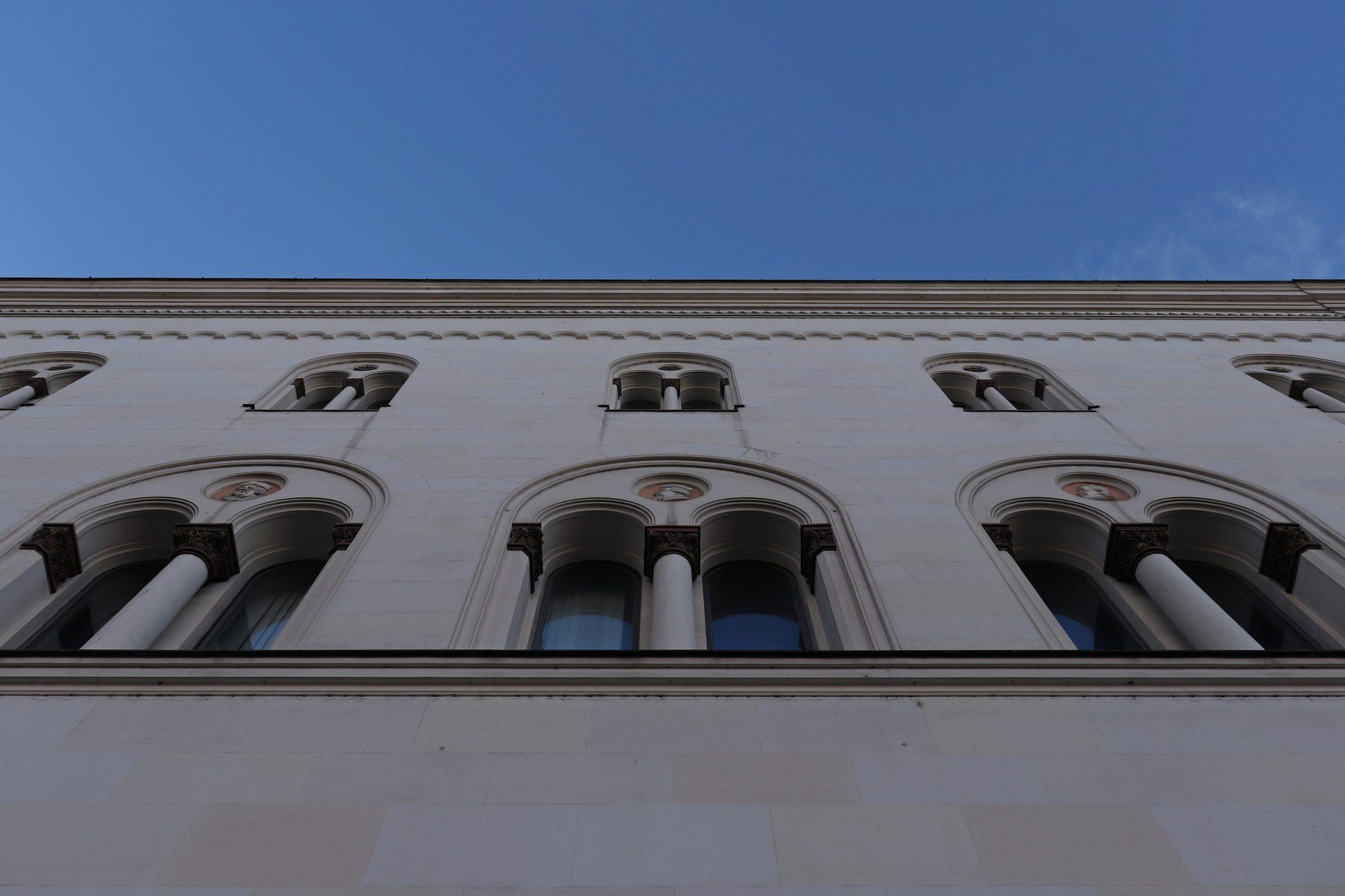 Universitätsgebäude in der Ludwigstraße in München