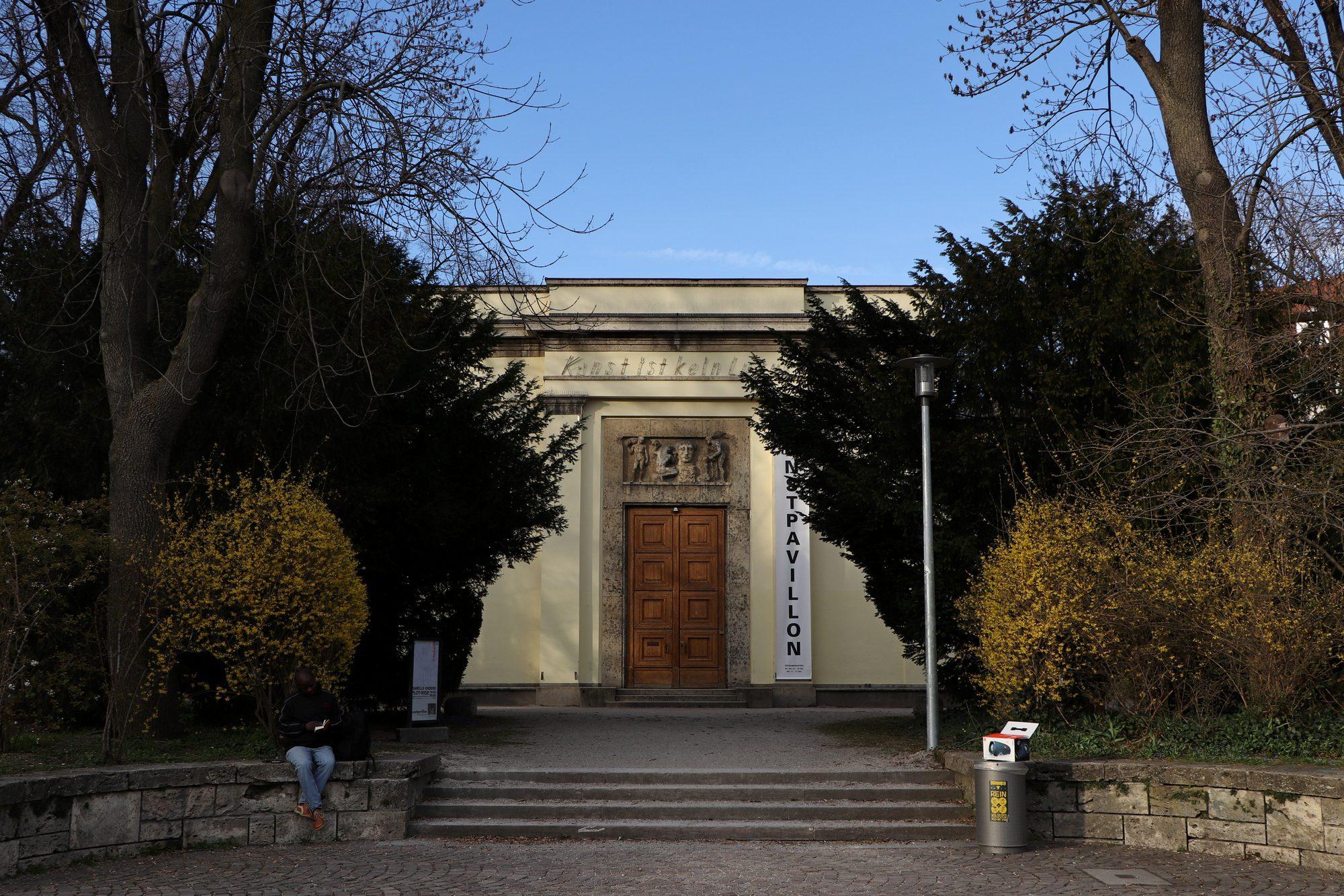Pavillon im alten Botanischen Garten München