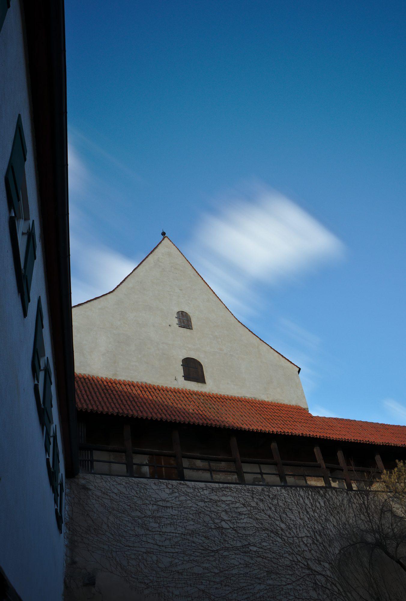 Die Stadtmauer von Nördlingen
