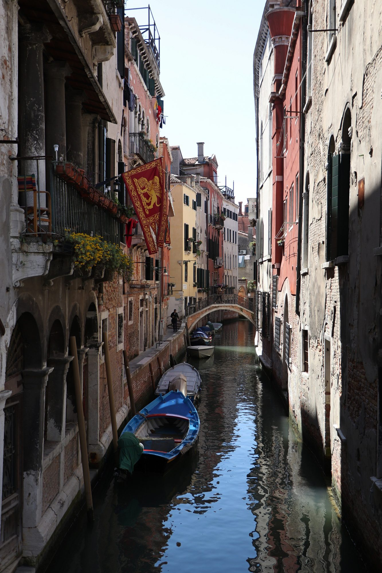 Kanal in Venedig