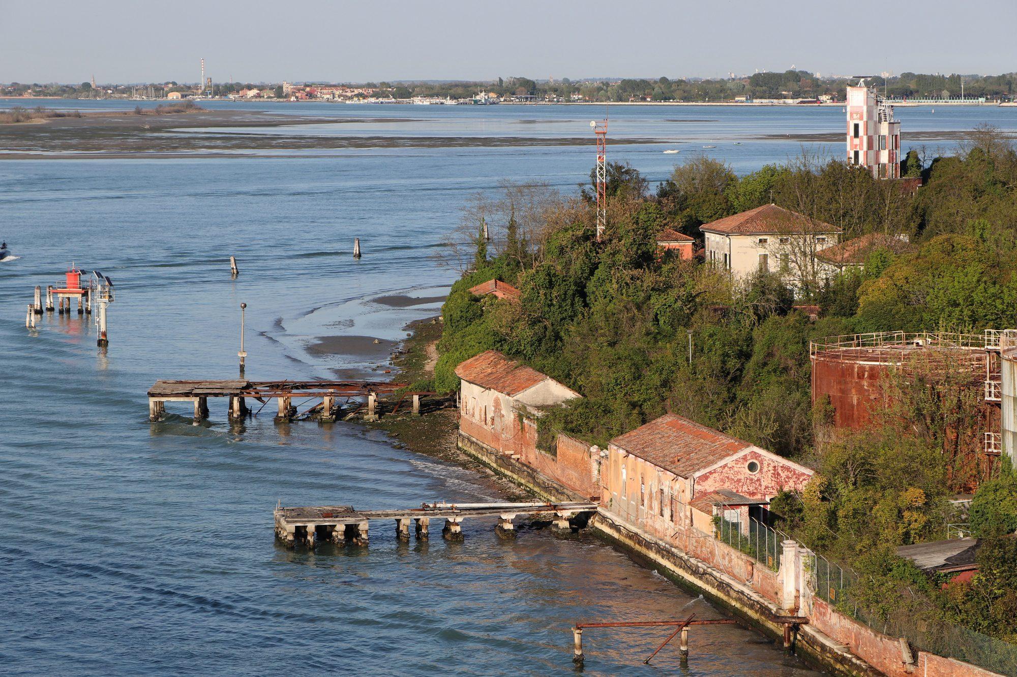 Insel in der Lagune von Venedig