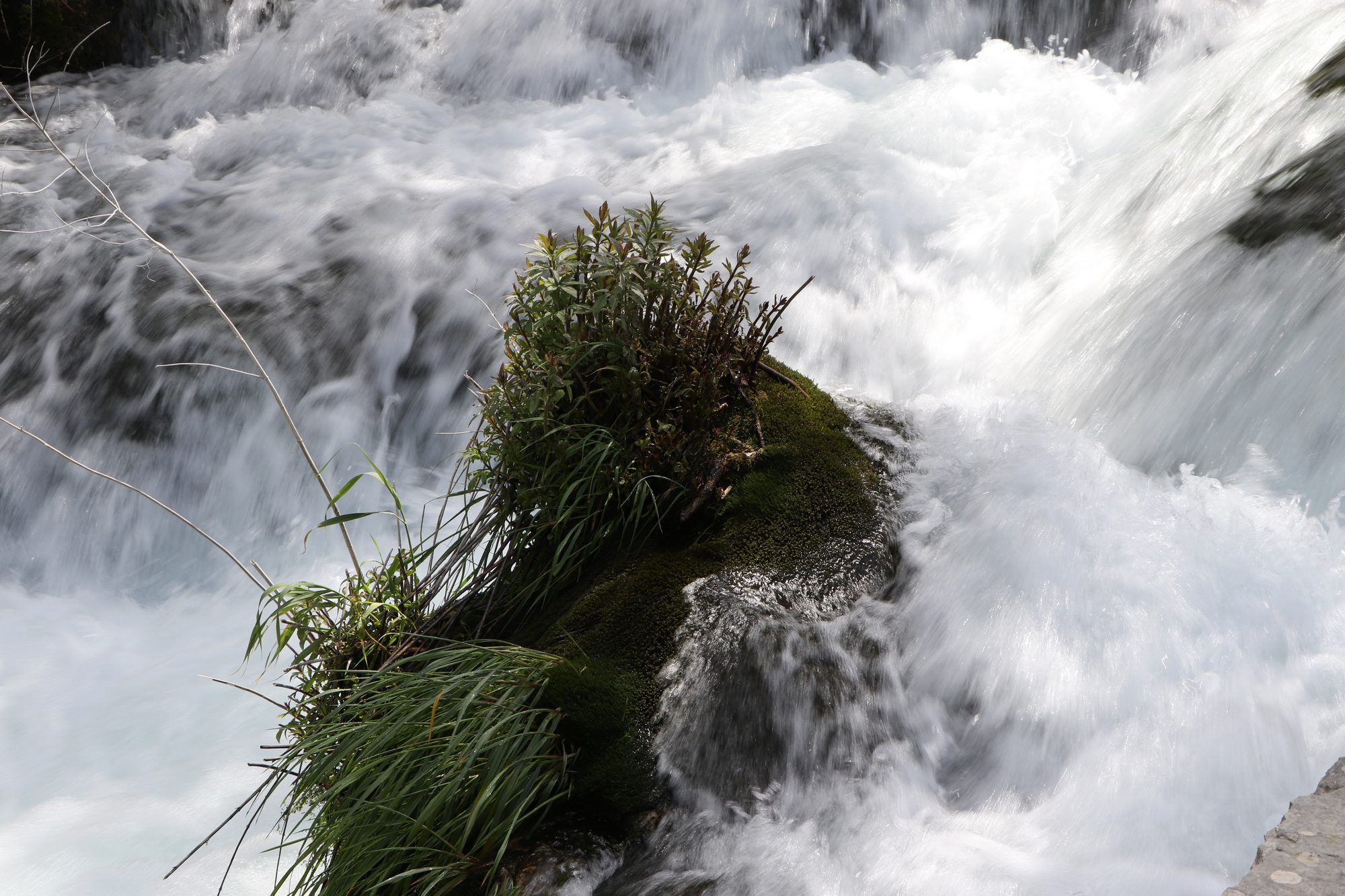 Wasserfall im Krka-Nationalpark