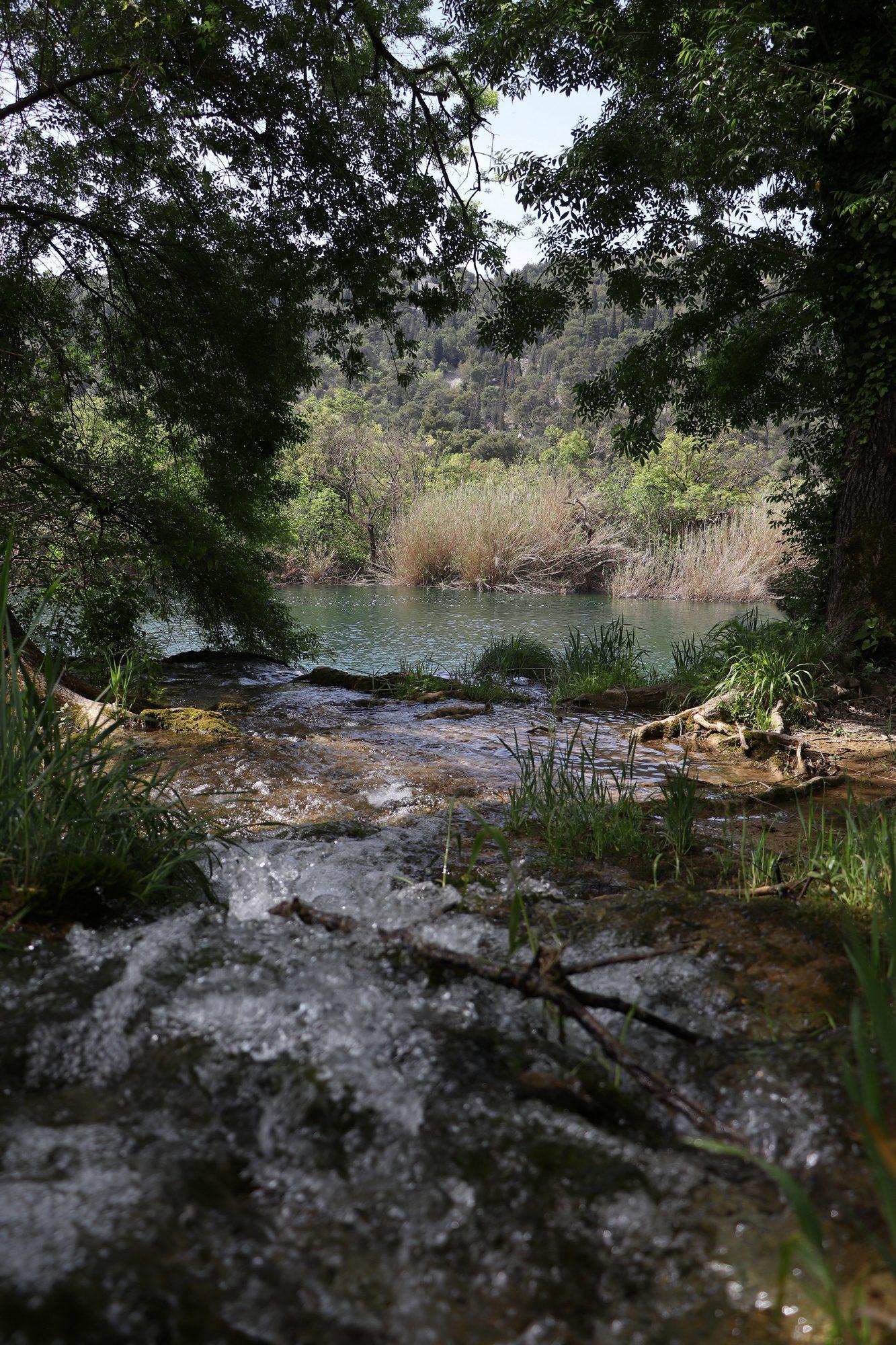 Landschaft im Krka-Nationalpark