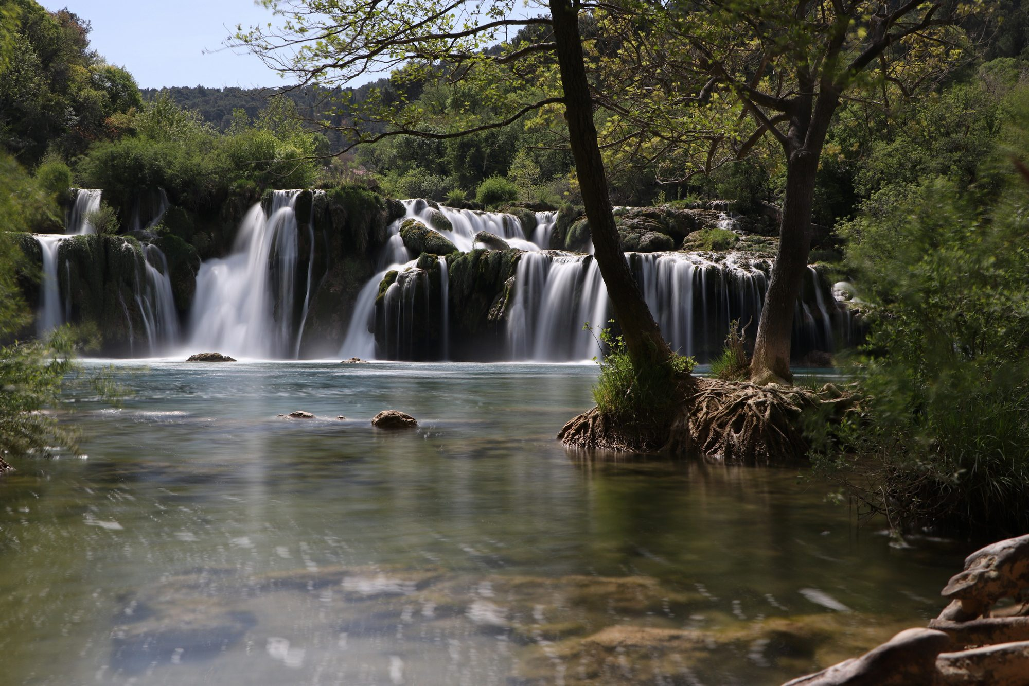 Wasserfall Skradinski buk im Krka-Nationalpark