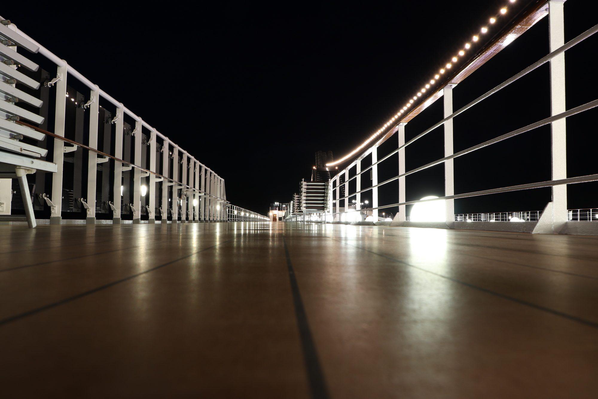 Nacht auf der MSC Opera