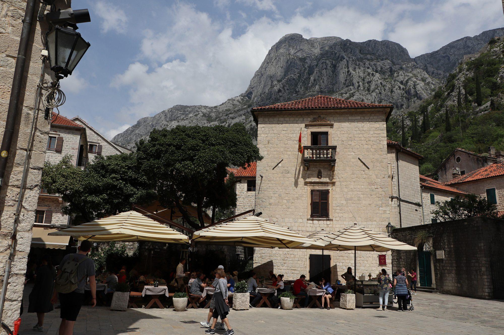 Platz in Kotor