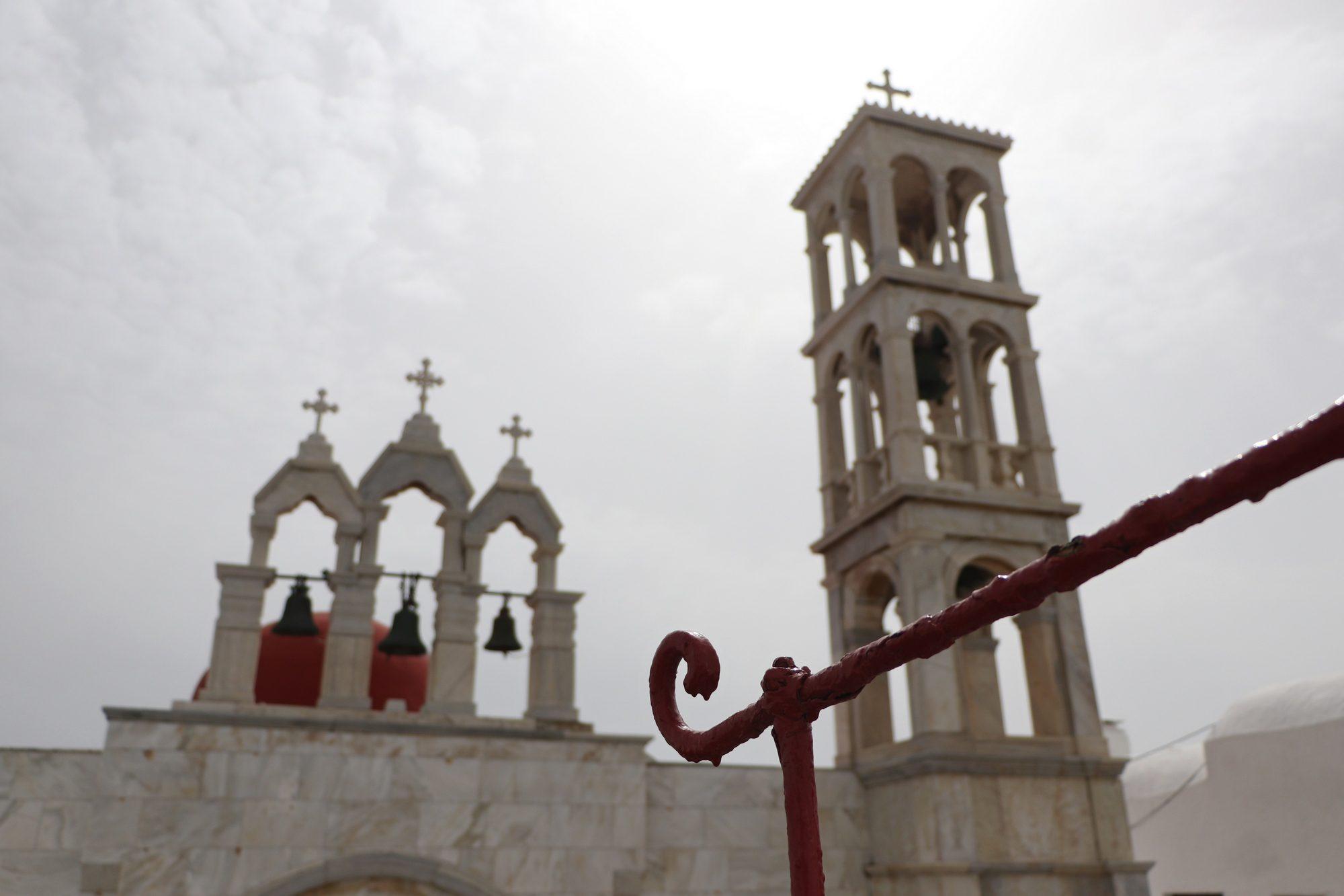 Kloster in Ano Mera auf Mykonos