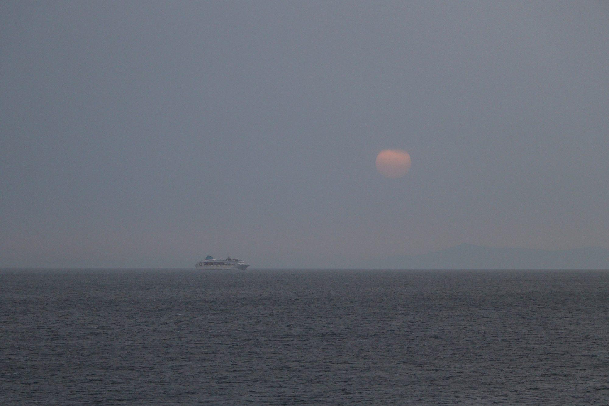 Sonnenuntergang in Mykonos