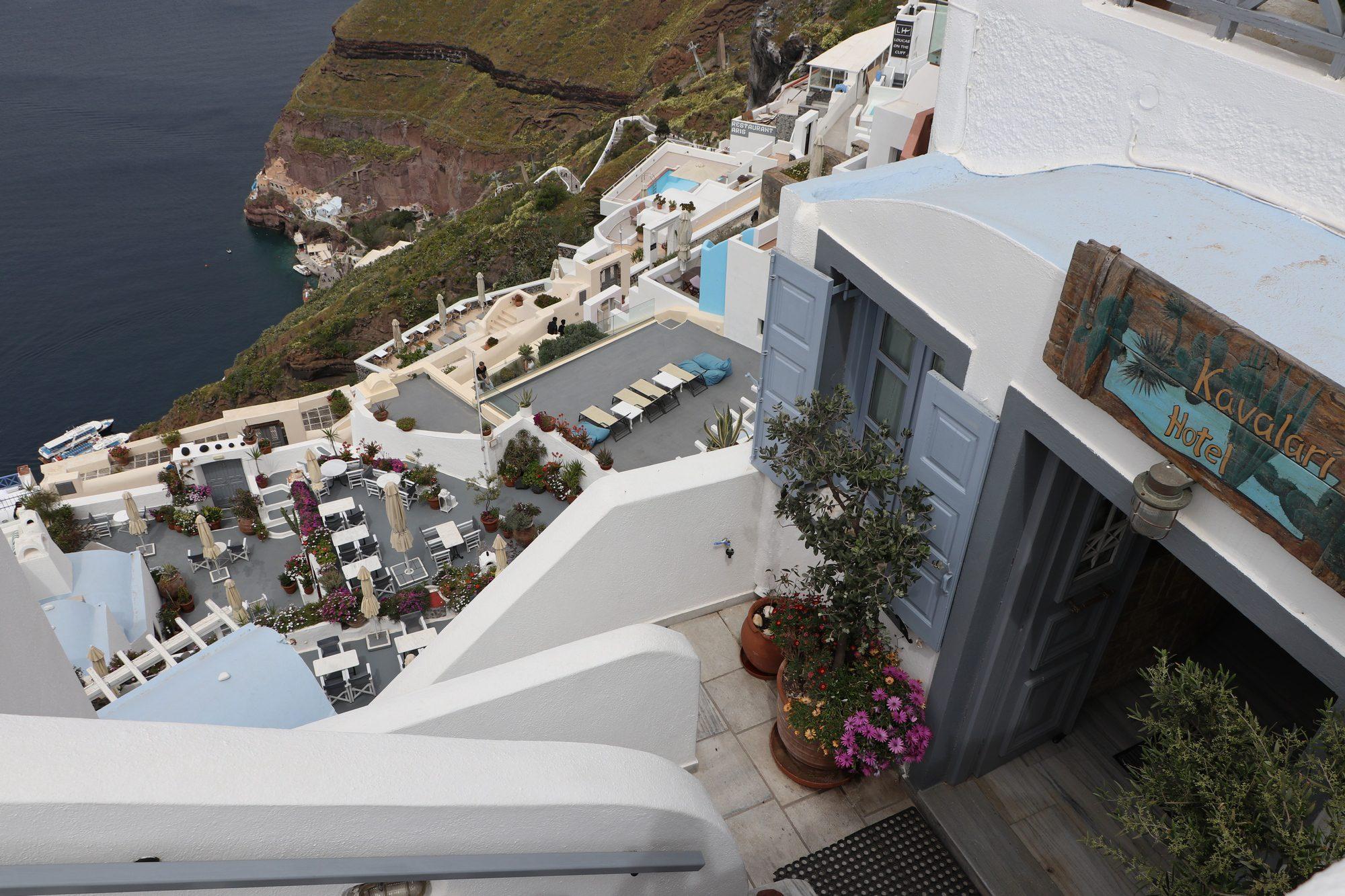 Fira auf Santorin