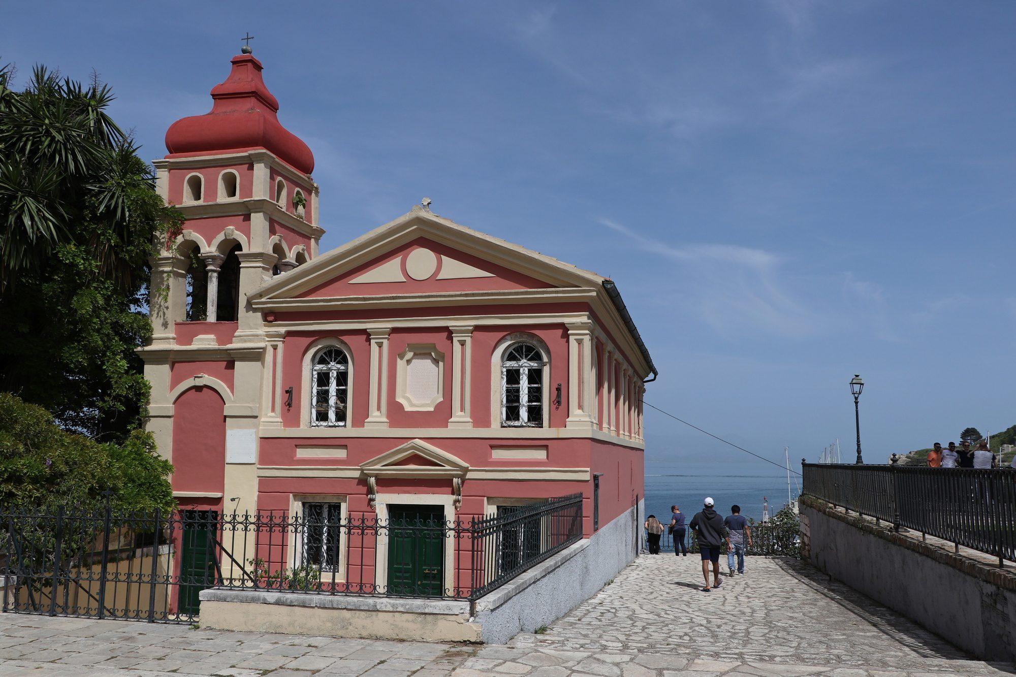 Kirche in der Altstadt von Korfu Stadt