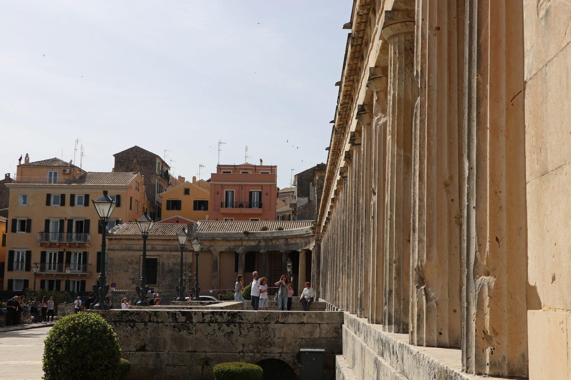 Altstadt von Korfu Stadt