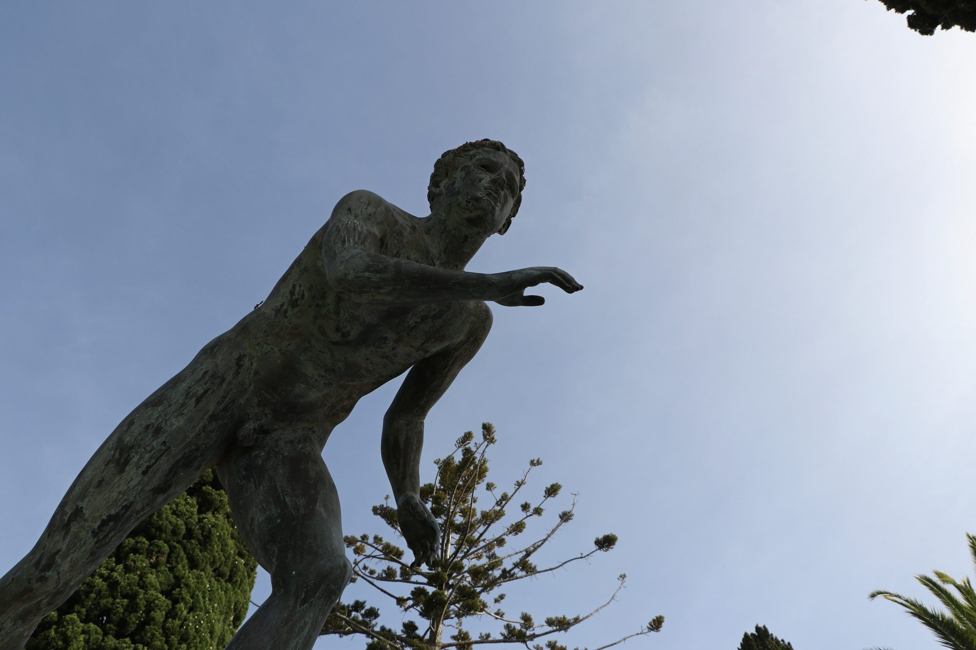 Statue im Achilleion auf Korfu