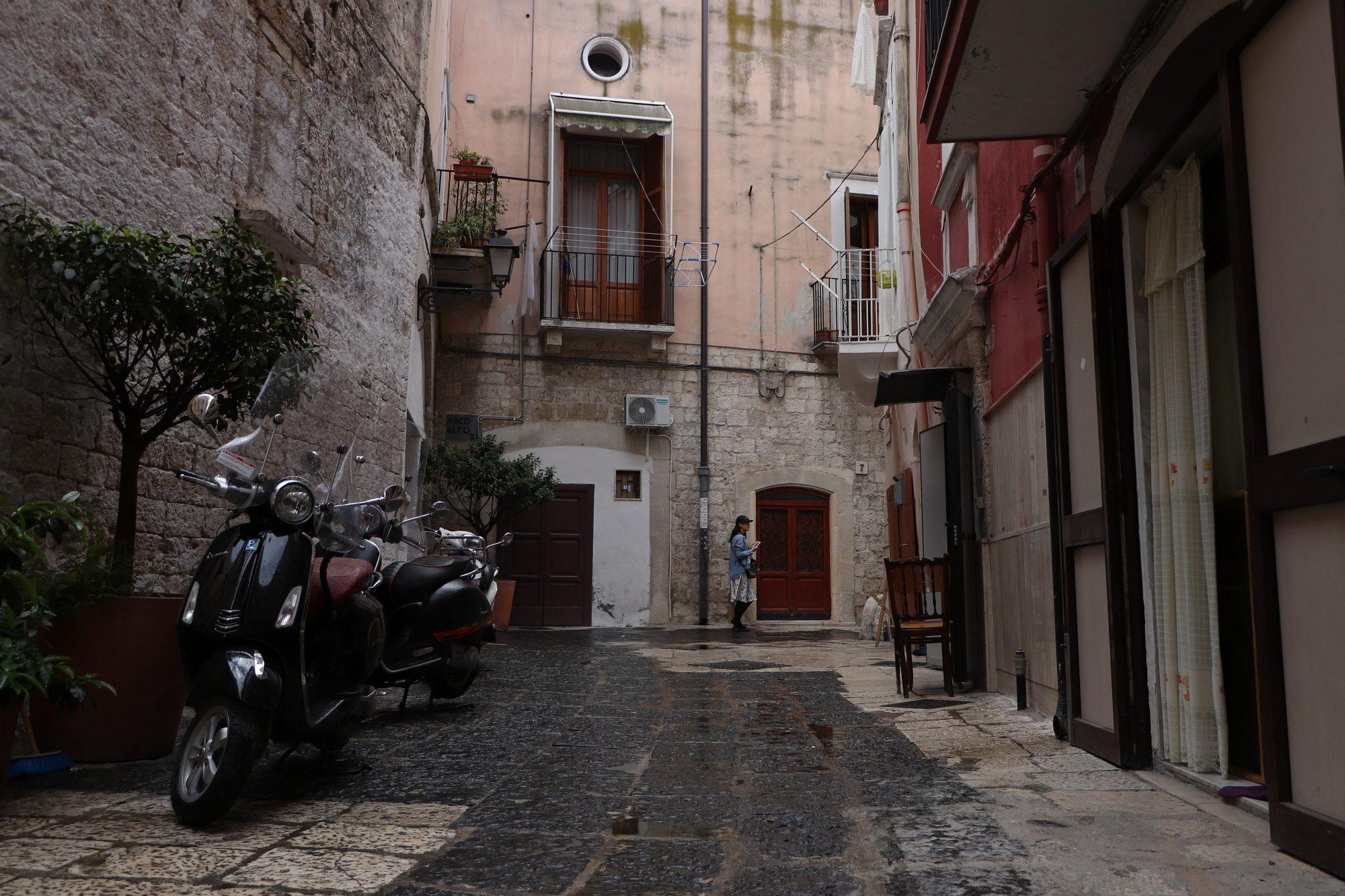 Unterwegs in der Altstadt von Bari