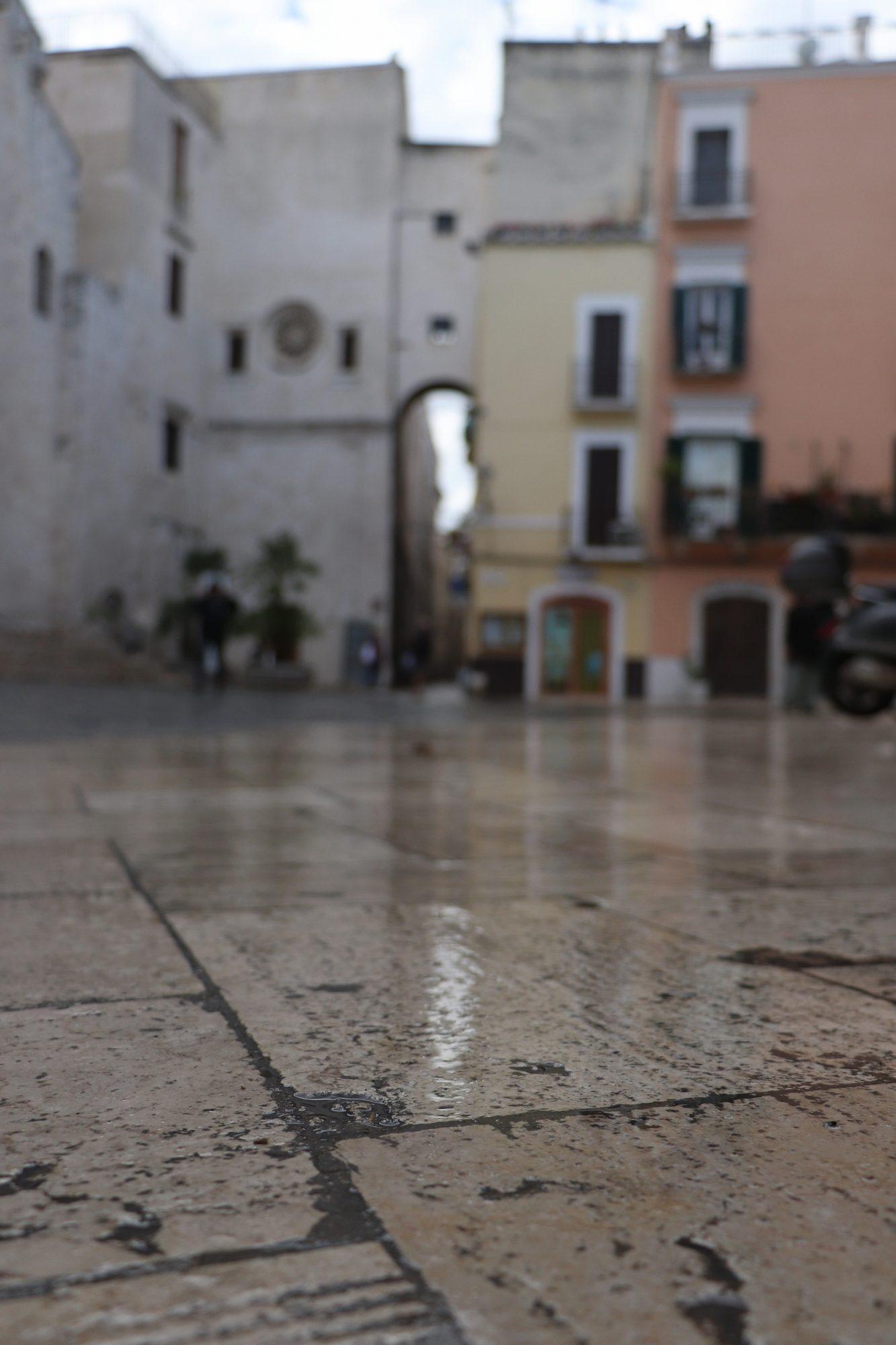 Platz in der Altstadt von Bari