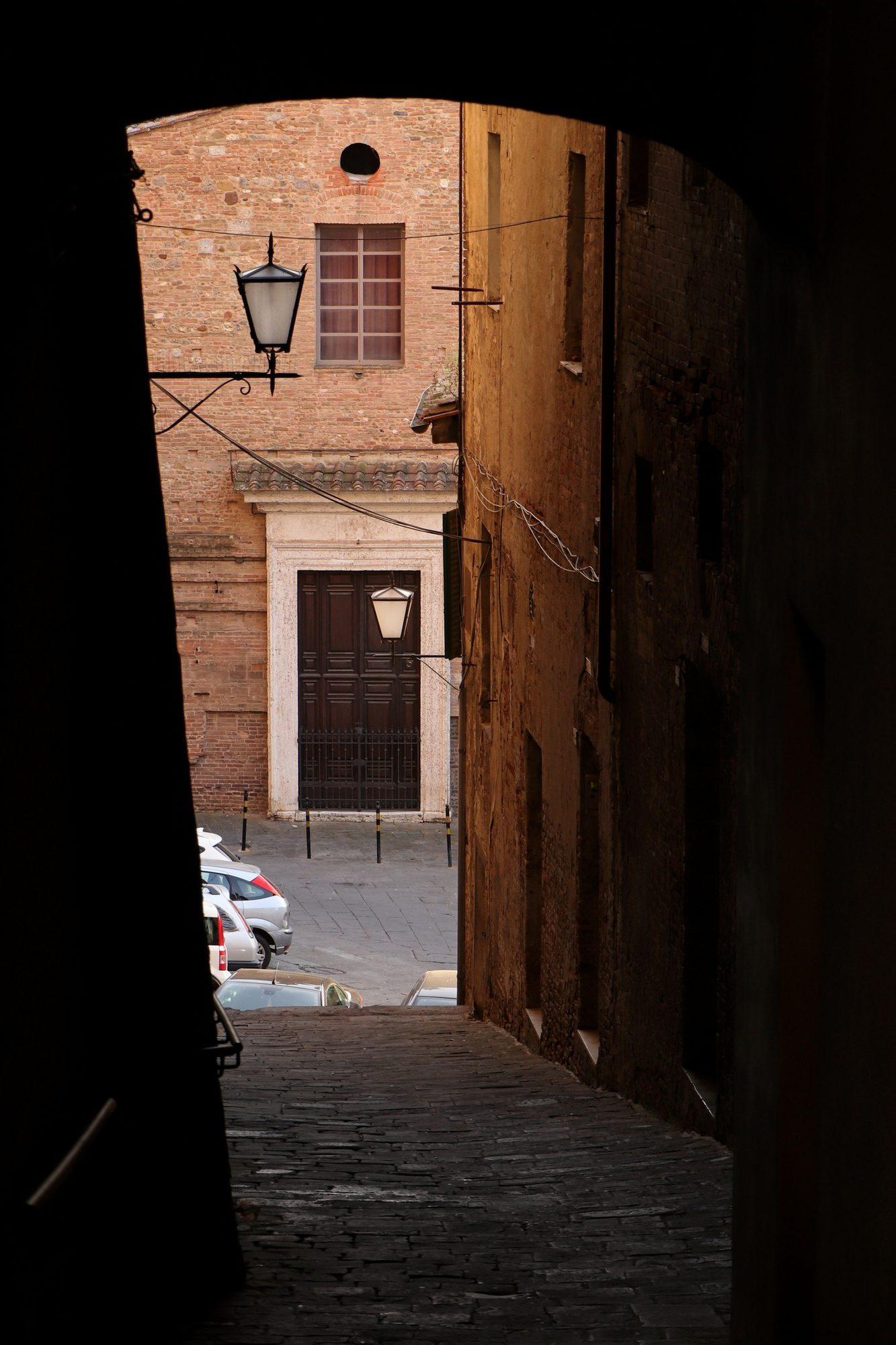 Altstadt von Siena in der Toskana Italien