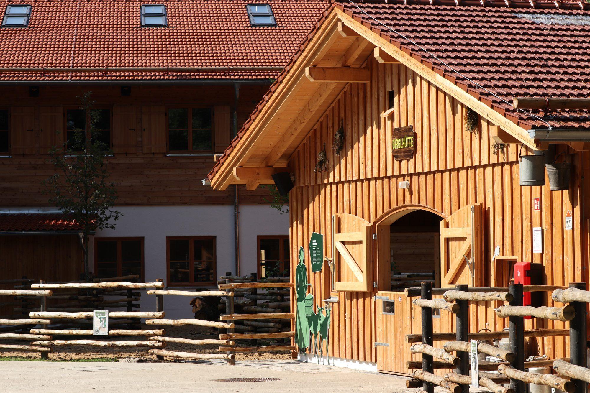 Das neue Mühlendorf im Tierpark Hellabrunn