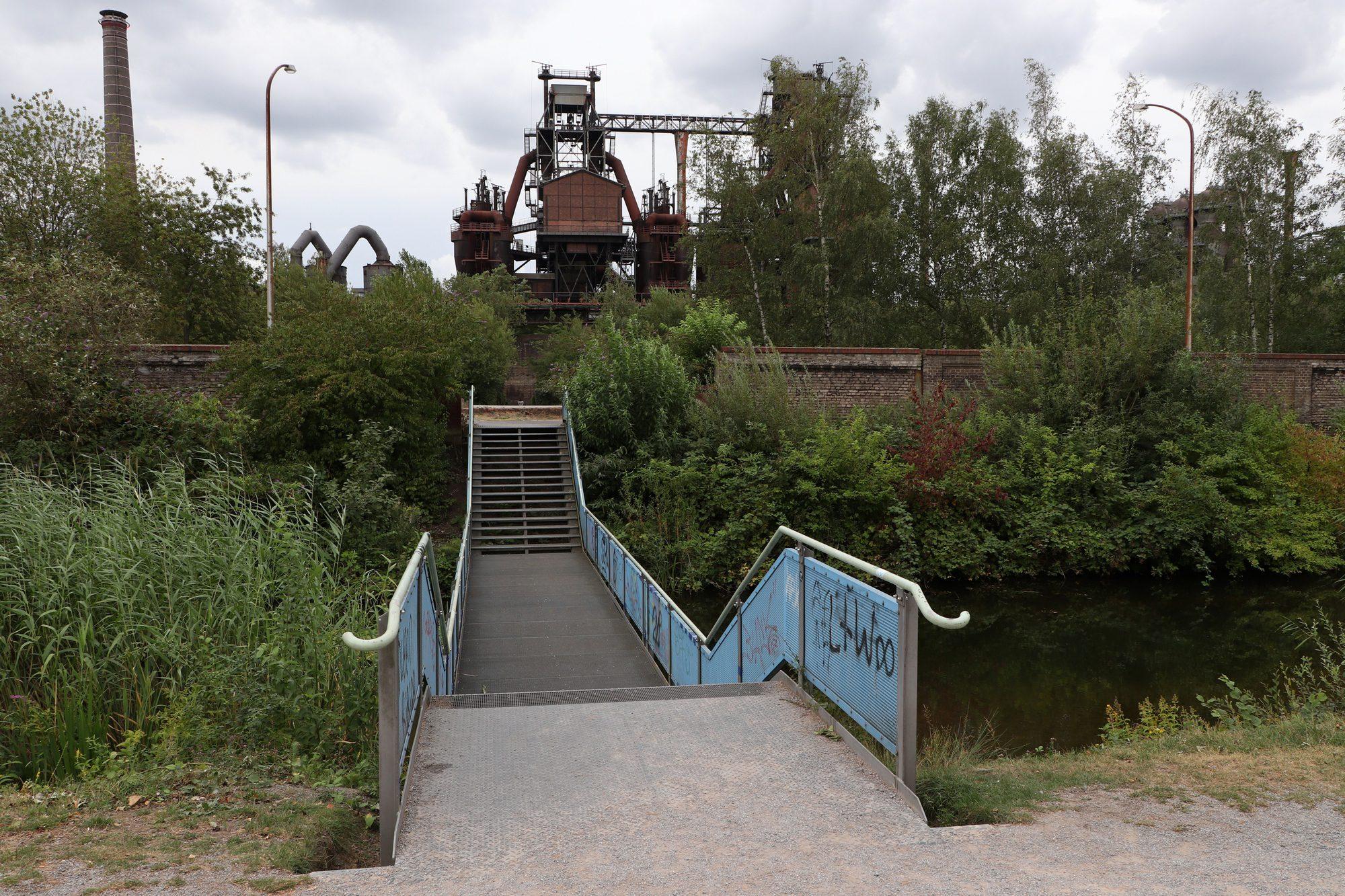 Alte Industrieanlagen im Landschaftspark Duisburg-Nord