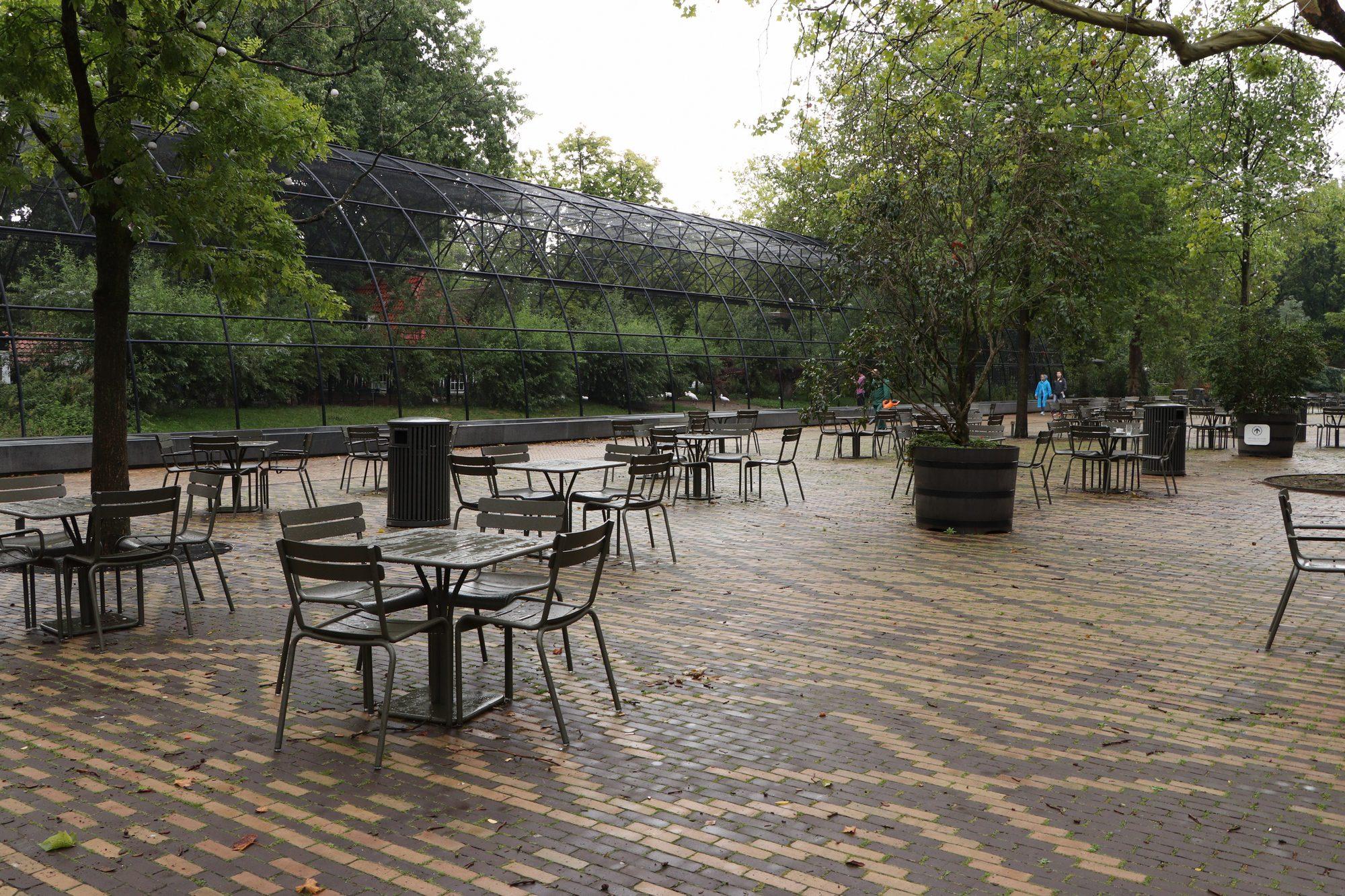 Eingangsbereich Artis Amsterdam