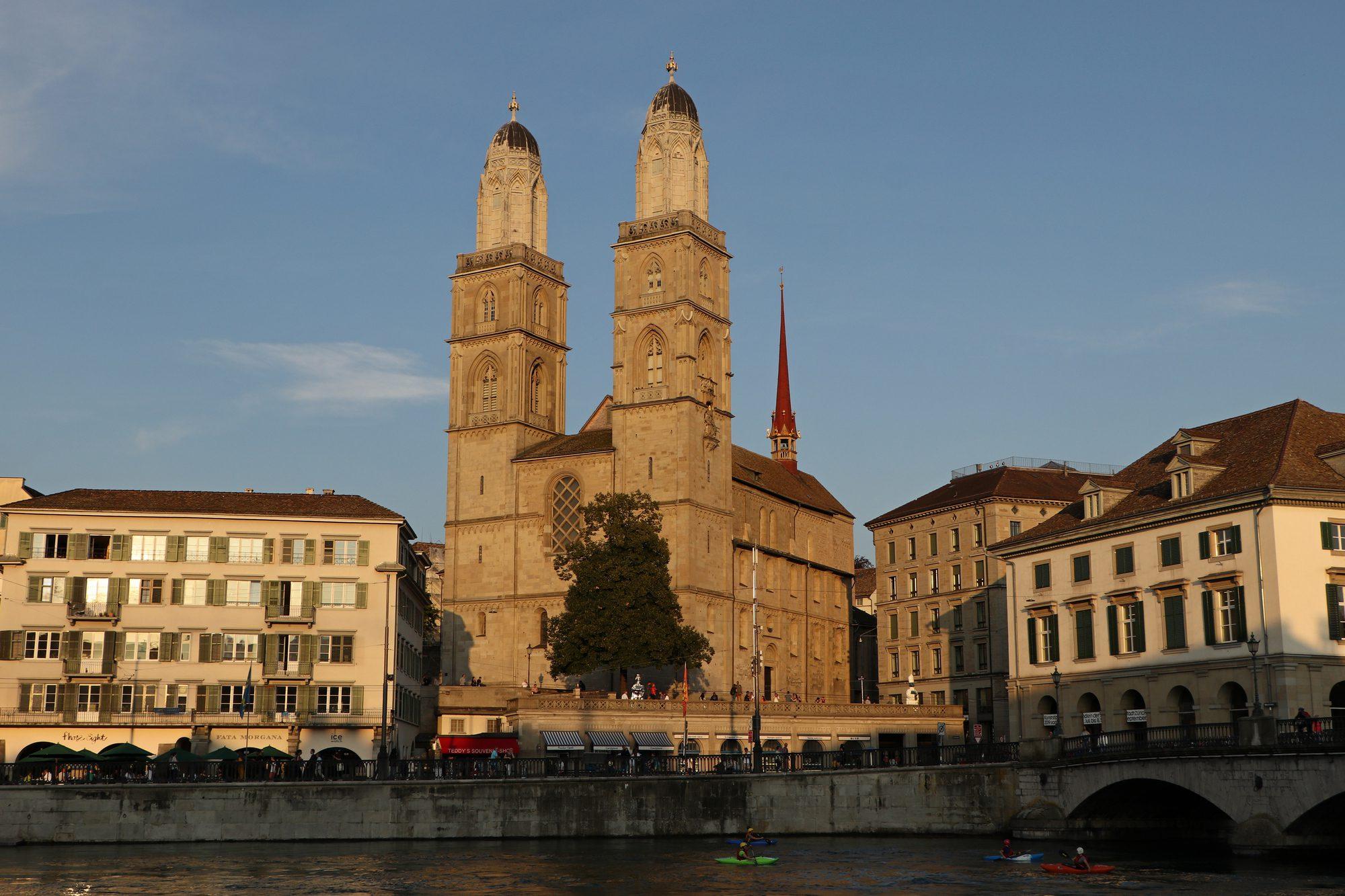 Das Großmünster Zürich