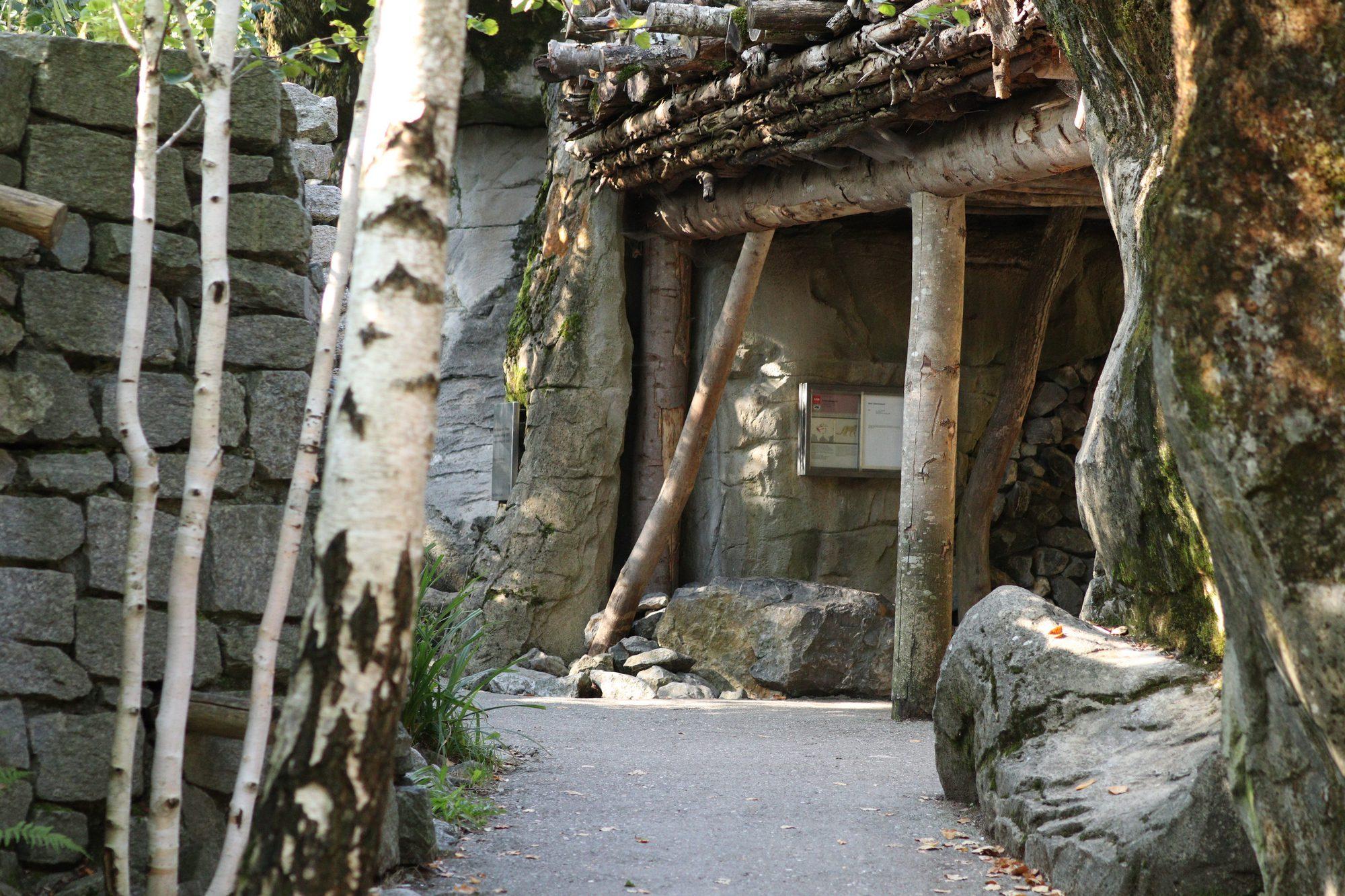Besucherweg Schneeleopardenanlage Zoo Zürich