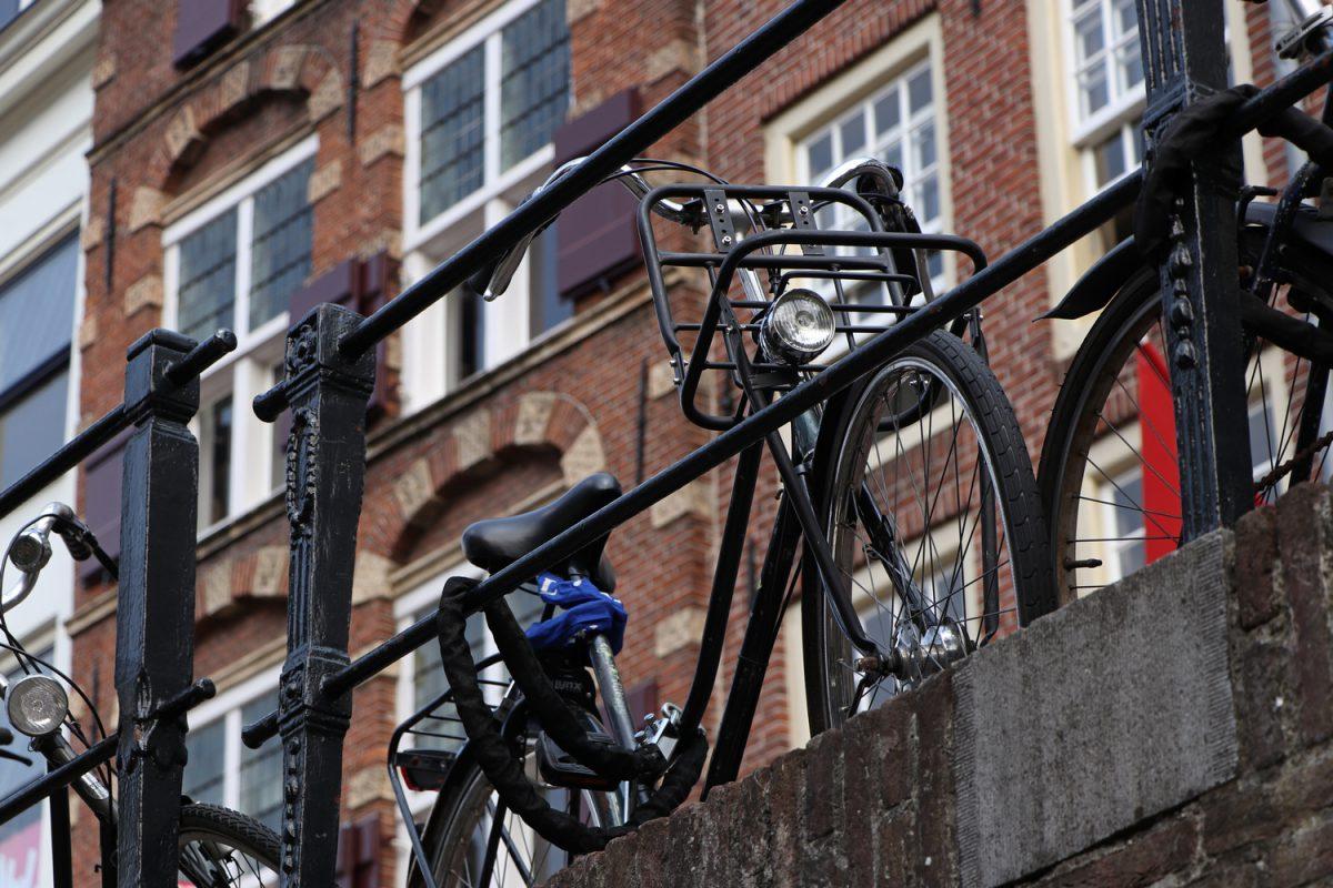 Fahrrad in Utrecht